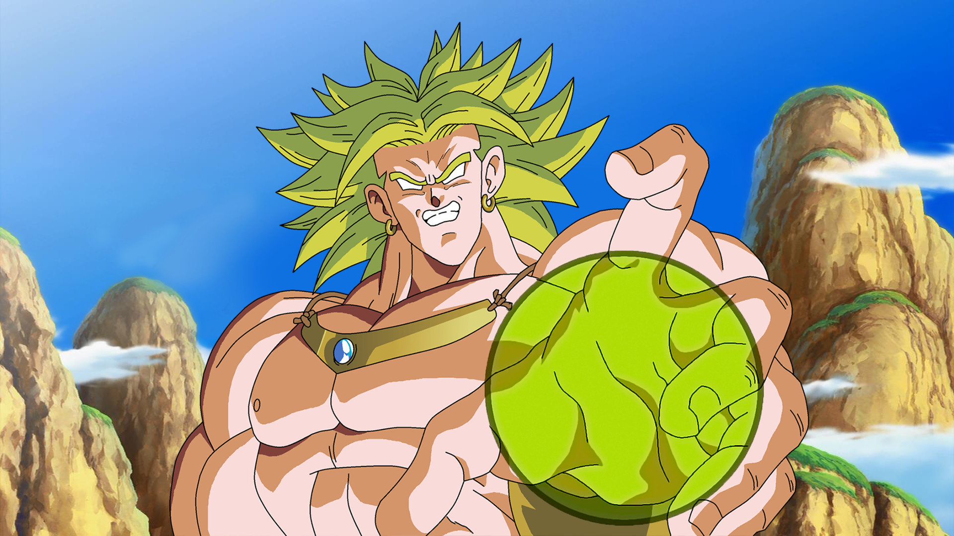 Free download Broly (Dragon Ball) wallpaper ID:462347 hd 1920x1080 for desktop