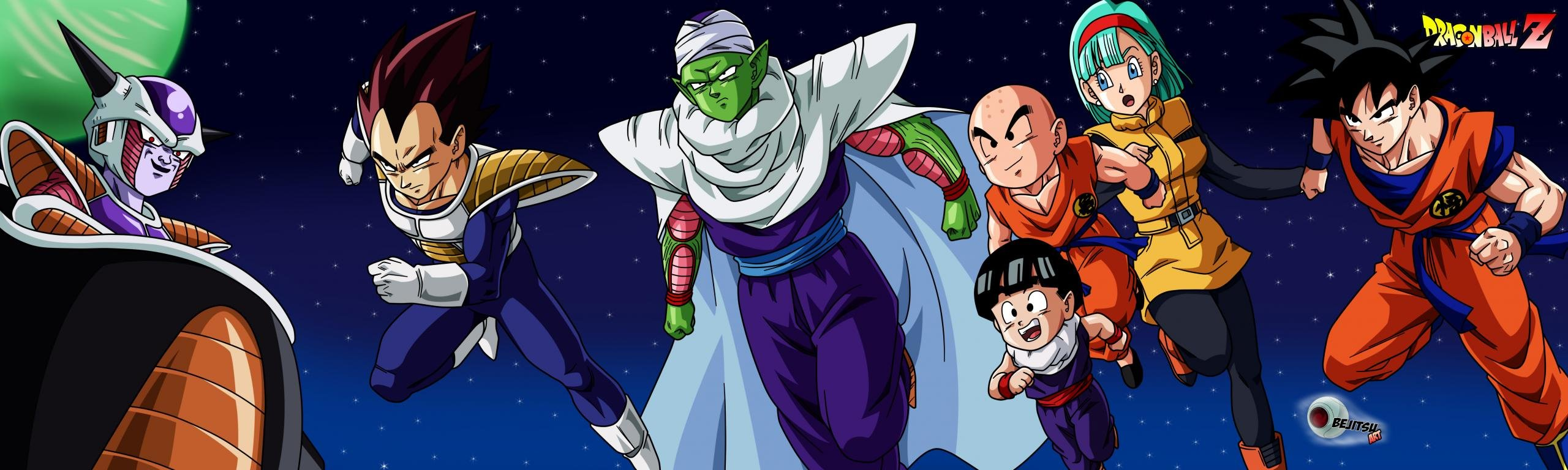 Best Dragon Ball Z (DBZ) background ID:462316 for High Resolution dual monitor 2560x768 PC