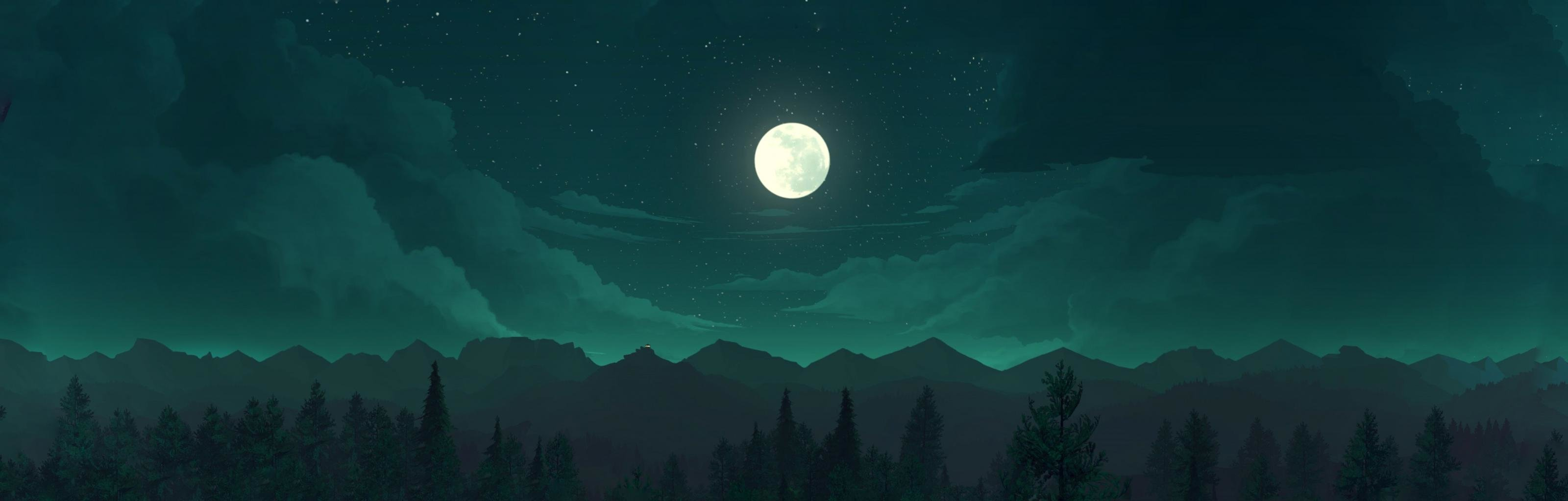 Dual Monitor Firewatch Wallpapers Hd Backgrounds