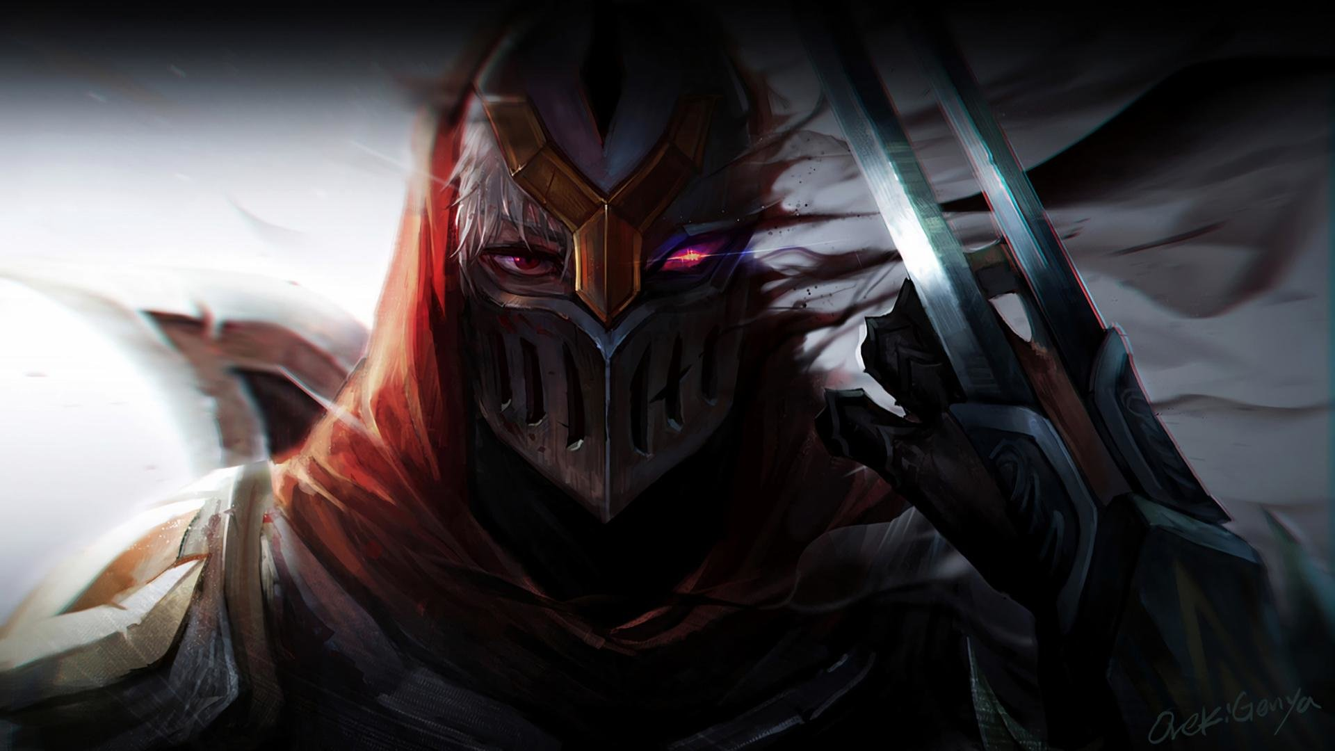 High resolution Zed (League Of Legends) 1080p background ID:170883 for PC