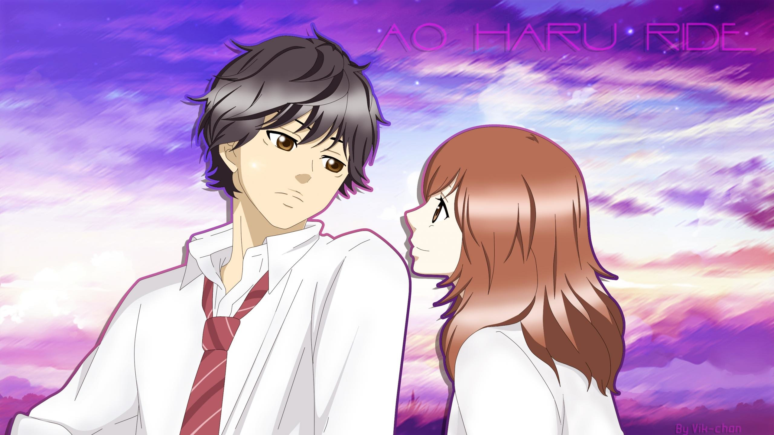 Awesome Ao Haru Ride free wallpaper ID:73846 for hd 2560x1440 computer