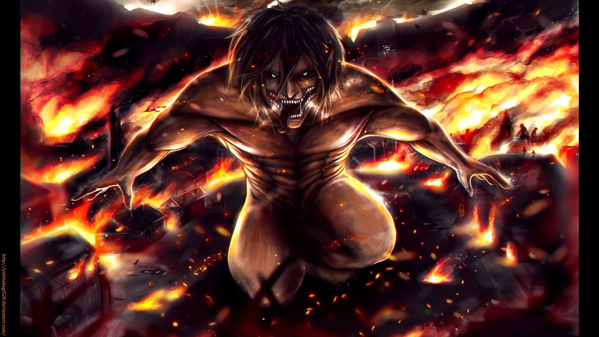 Free Eren Yeager High Quality Background Id 206439 For 1080p Pc
