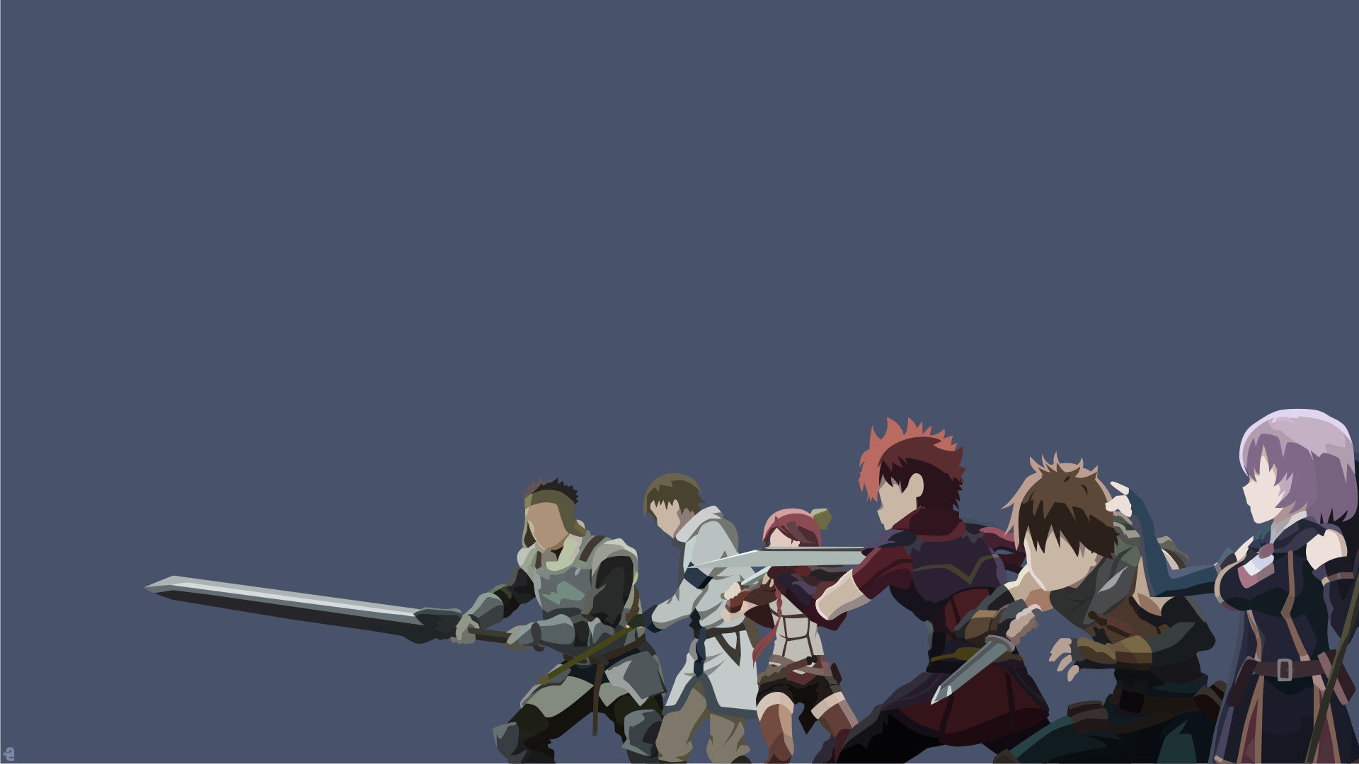 Best Grimgar Of Fantasy And Ash wallpaper ID:39952 for High Resolution full hd 1080p computer