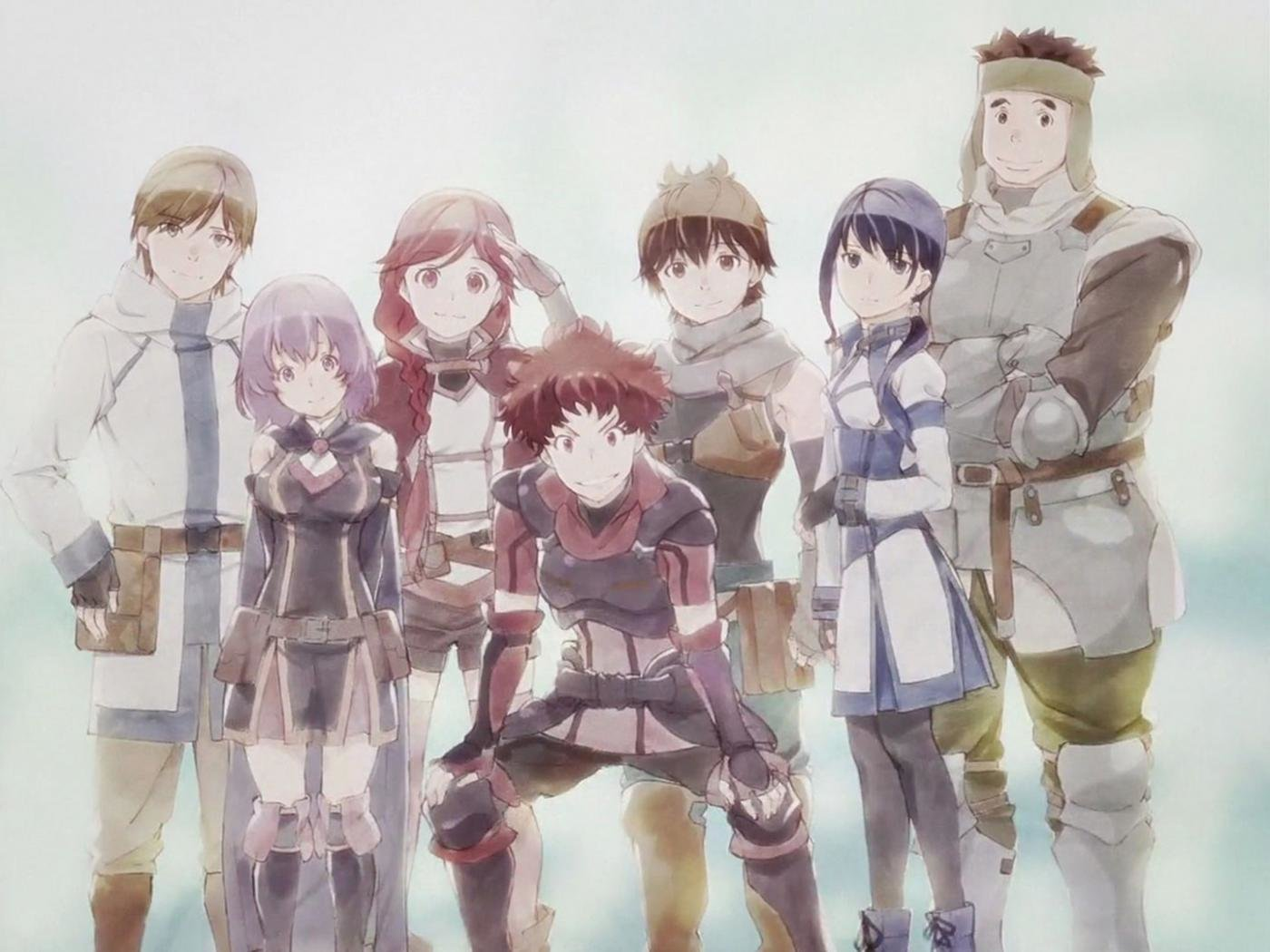 Download hd 1400x1050 Grimgar Of Fantasy And Ash PC wallpaper ID:39929 for free