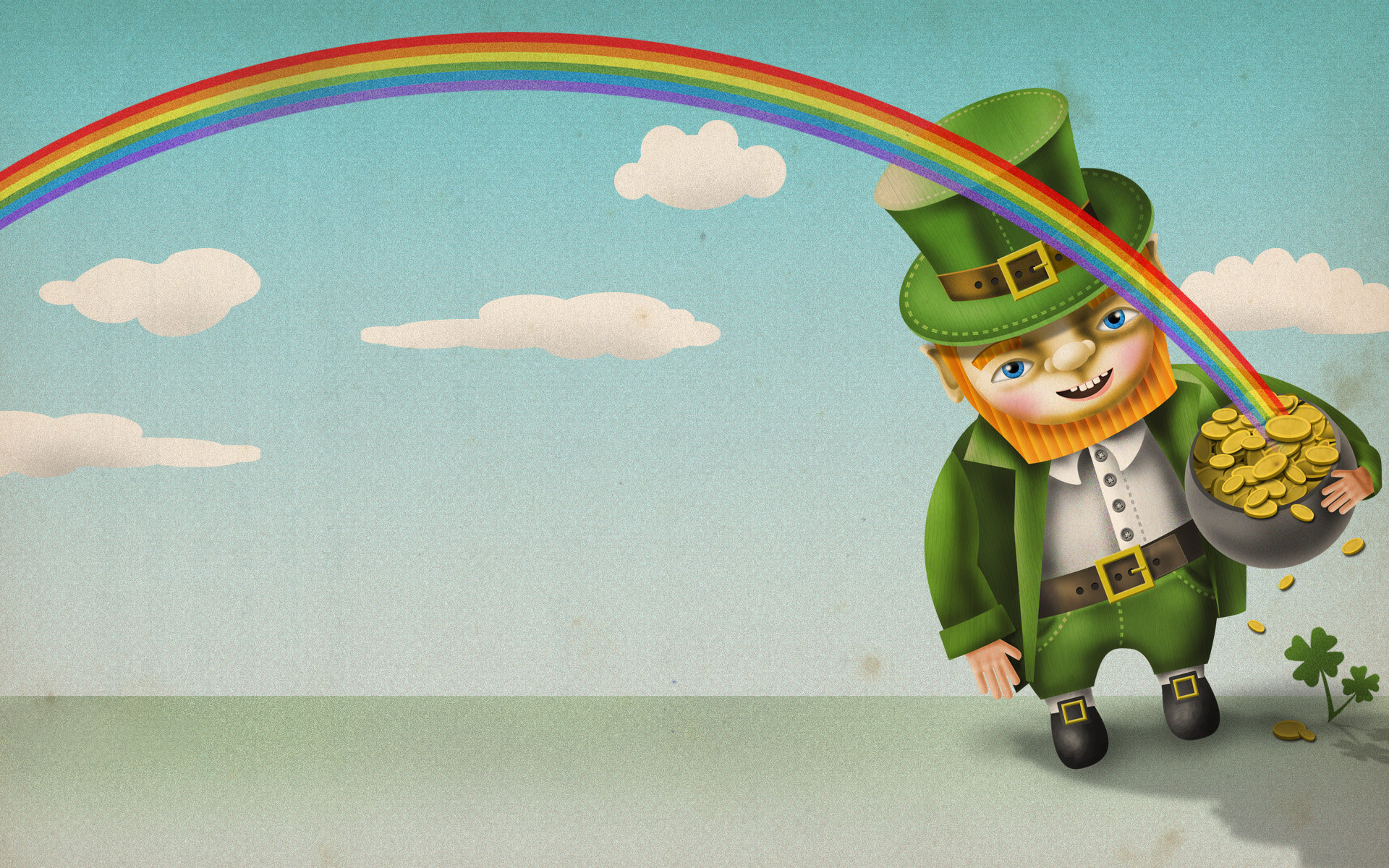 Download Hd 1920x1200 Leprechaun Computer Background ID89776 For Free