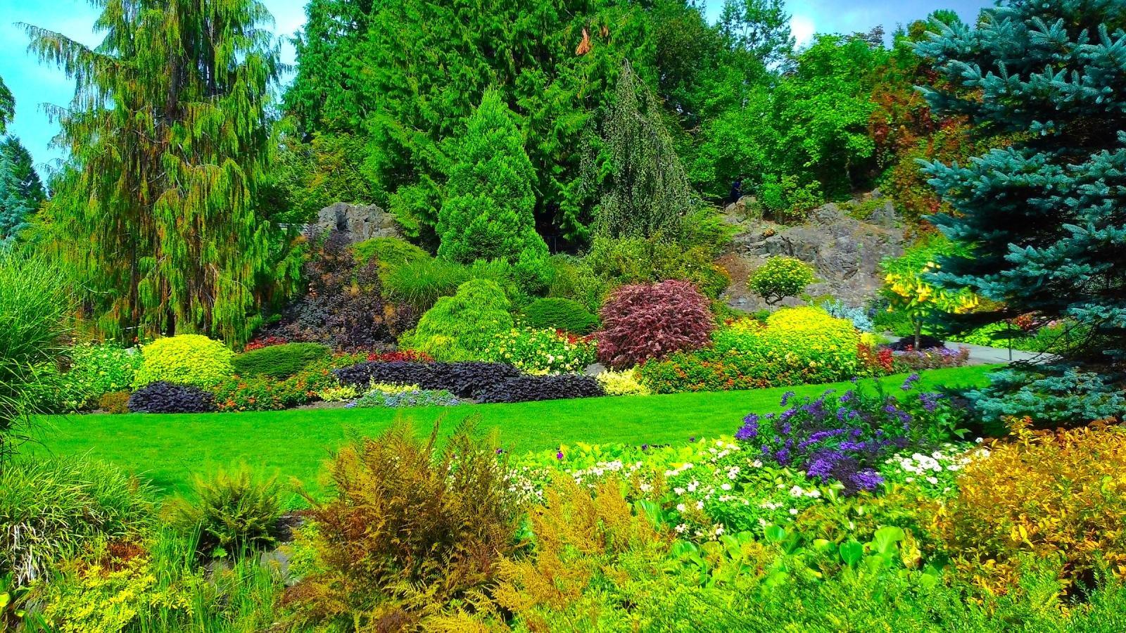 High Resolution Garden Hd 1600x900 Background Id 397033 For Desktop