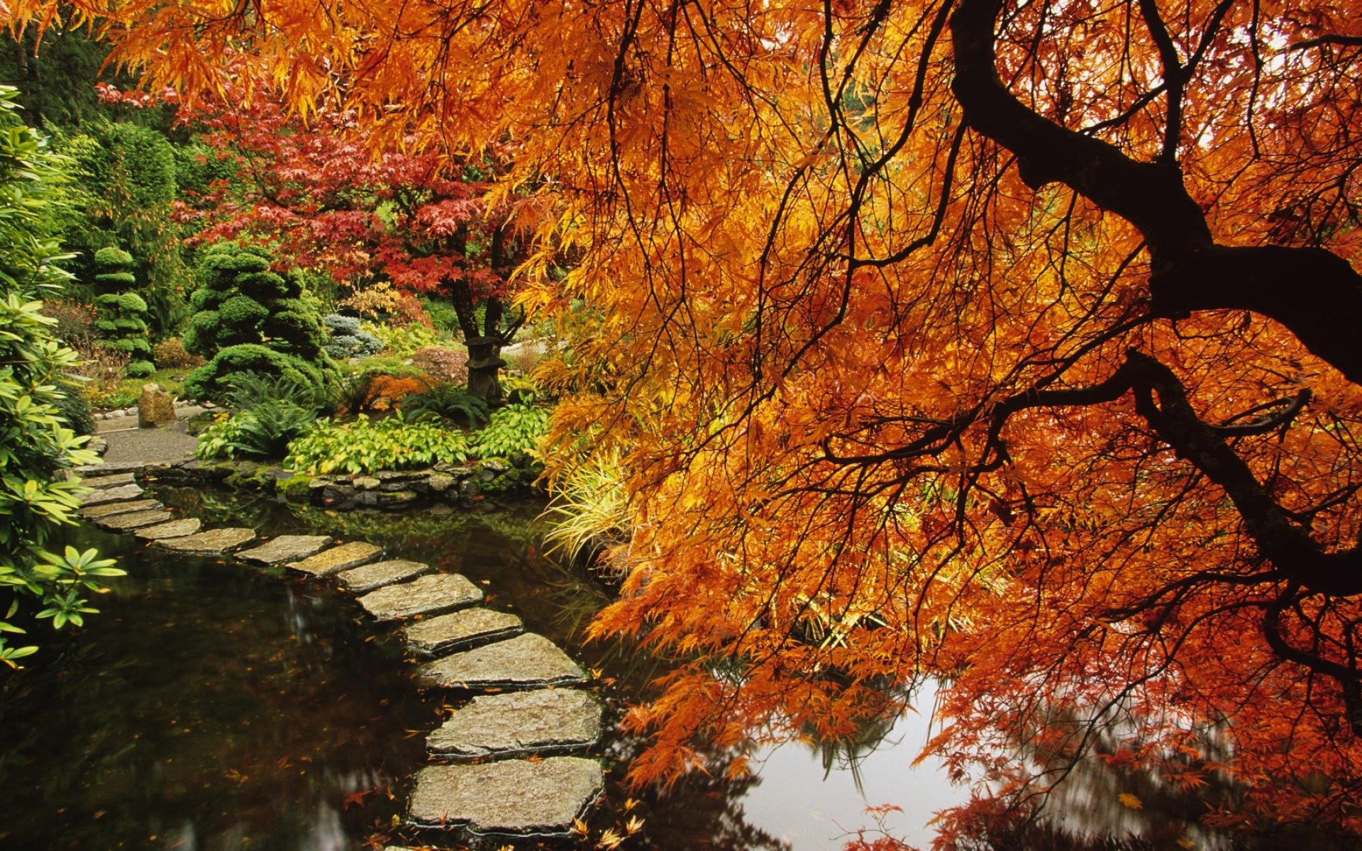 Best Japanese Garden Wallpaper ID:92643 For High Resolution Hd 1920x1200 PC