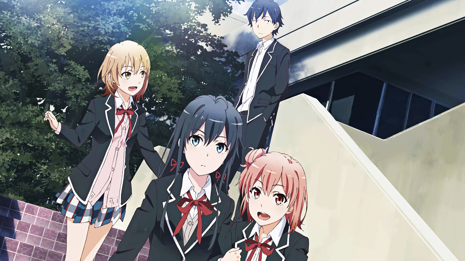 Download hd 1920x1080 My Teen Romantic Comedy SNAFU computer wallpaper ID:61504 for free