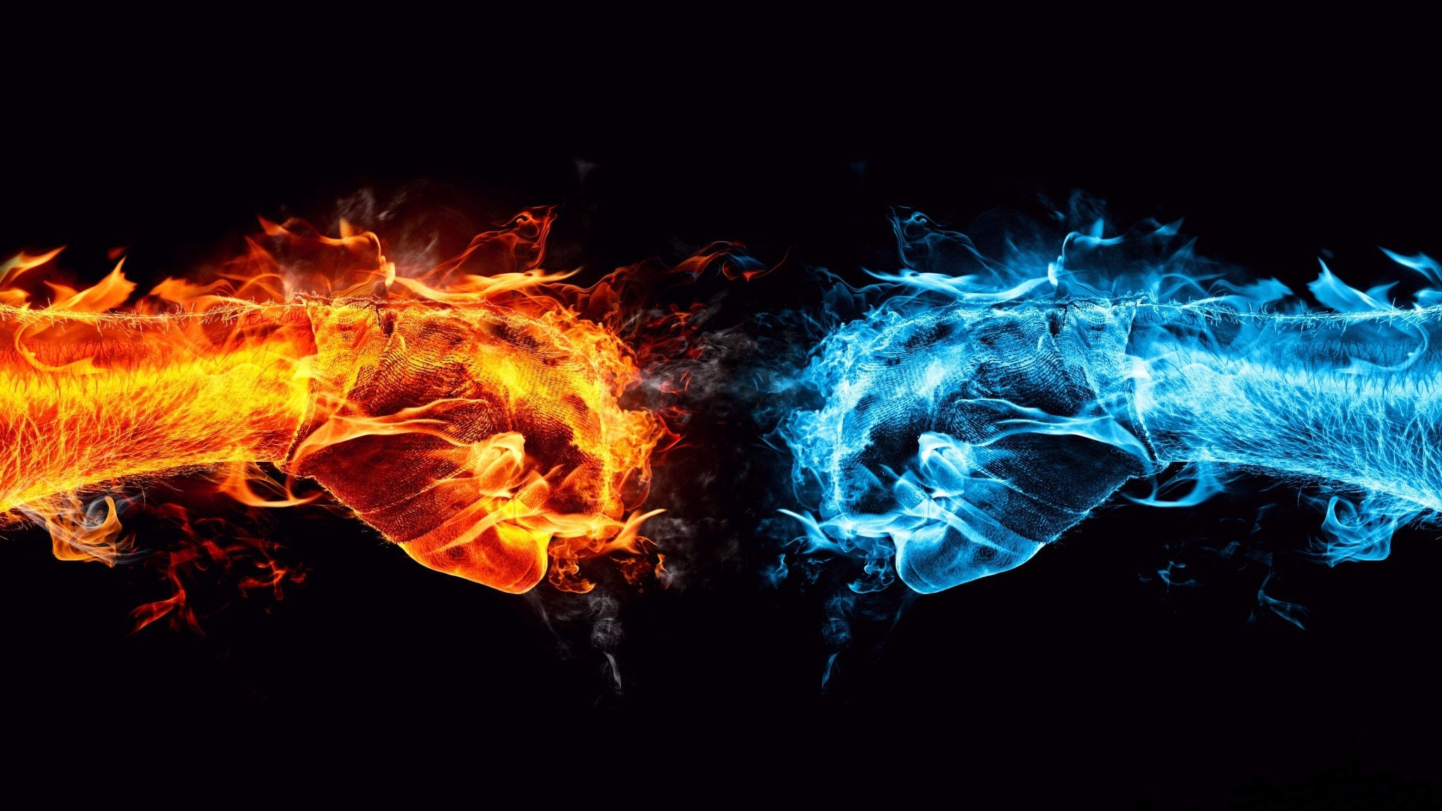 Fire And Ice Wallpapers Hd For Desktop Backgrounds