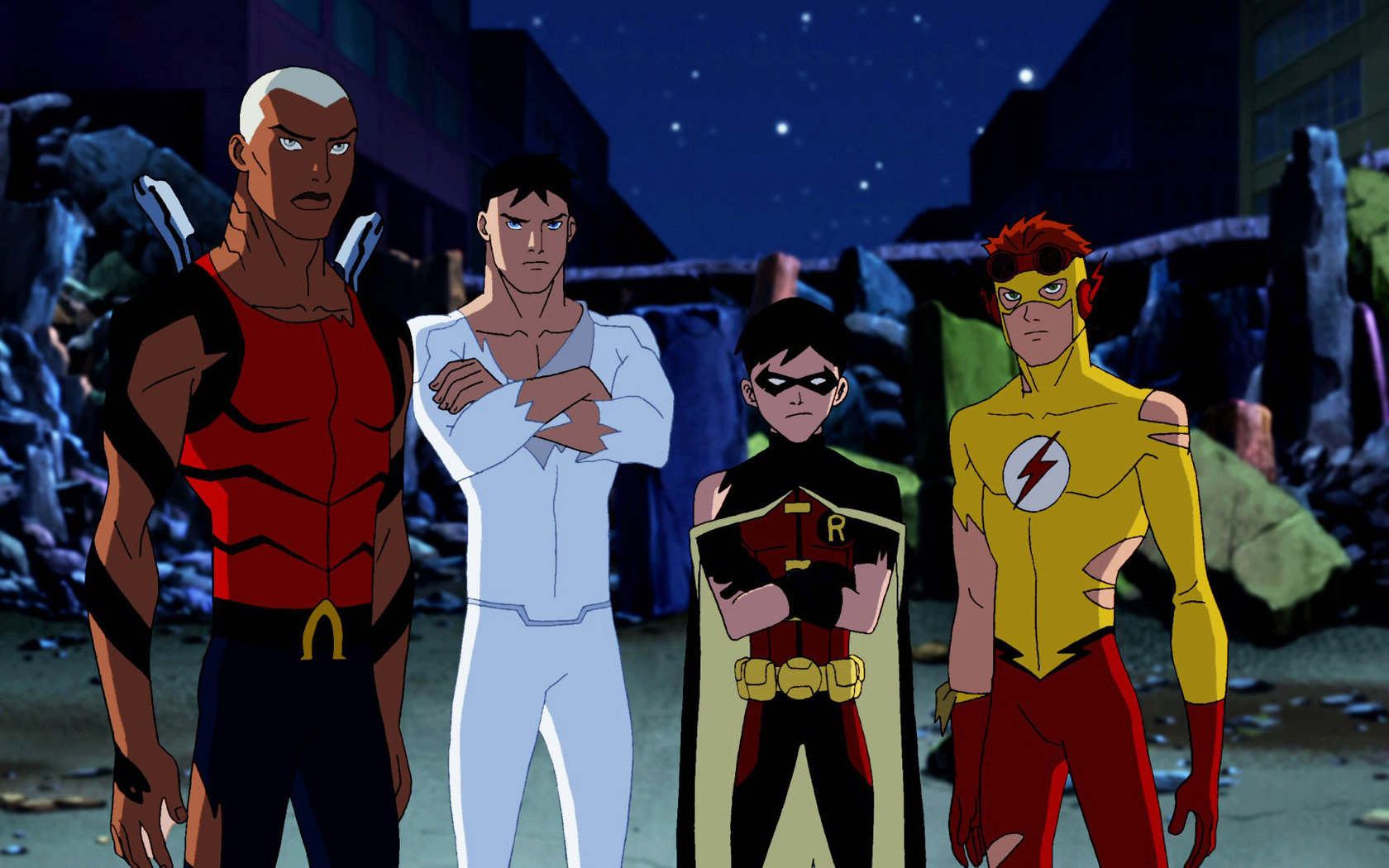 Young Justice Wallpapers 1680x1050 Desktop Backgrounds