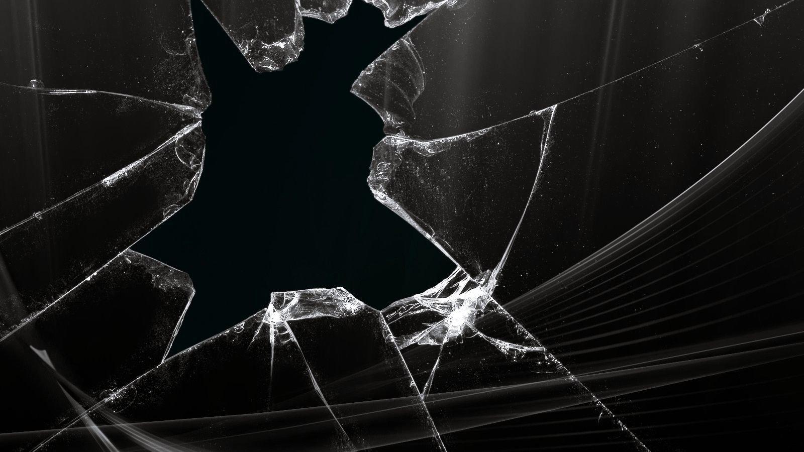 Cracked screen broken wallpapers 1600x900 desktop backgrounds cracked screen broken hd backgrounds for 1600x900 desktop voltagebd Images