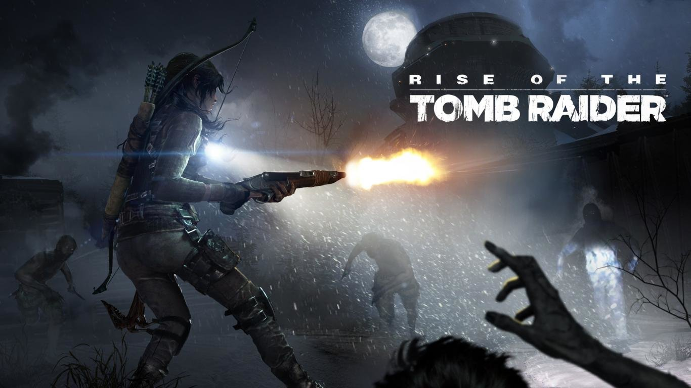 High resolution Rise Of The Tomb Raider laptop wallpaper ID:83990 for PC