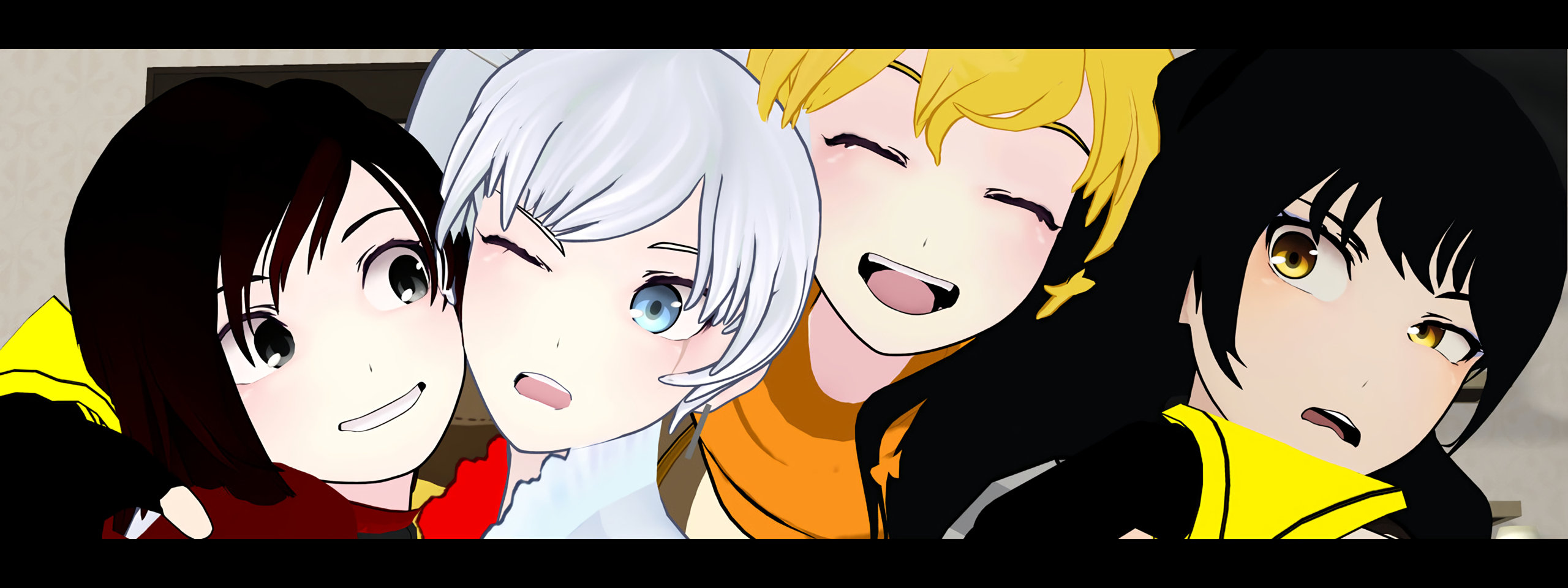 Download dual screen 2560x960 RWBY desktop background ID:437604 for free