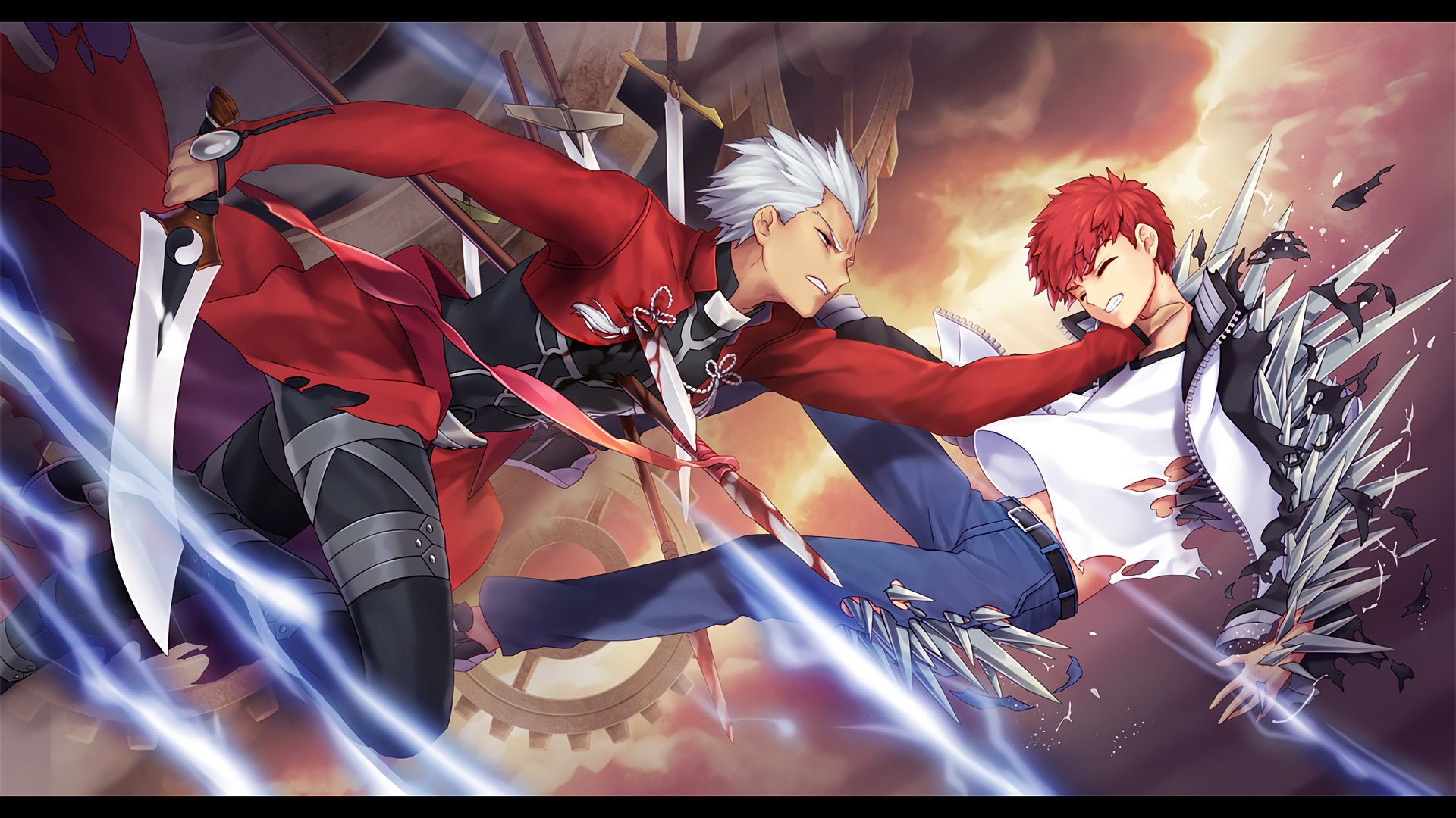 Archer Fate Stay Night Wallpapers 1920x1080 Full Hd 1080p