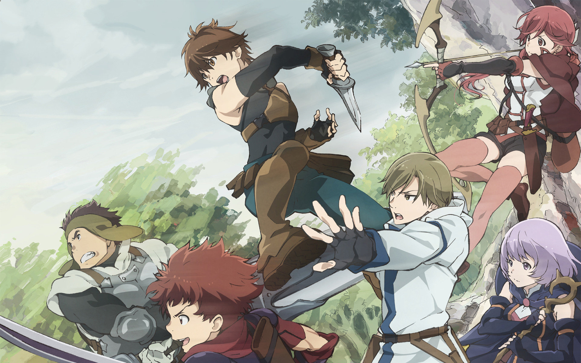Awesome Grimgar Of Fantasy And Ash free wallpaper ID:39932 for hd 1920x1200 computer