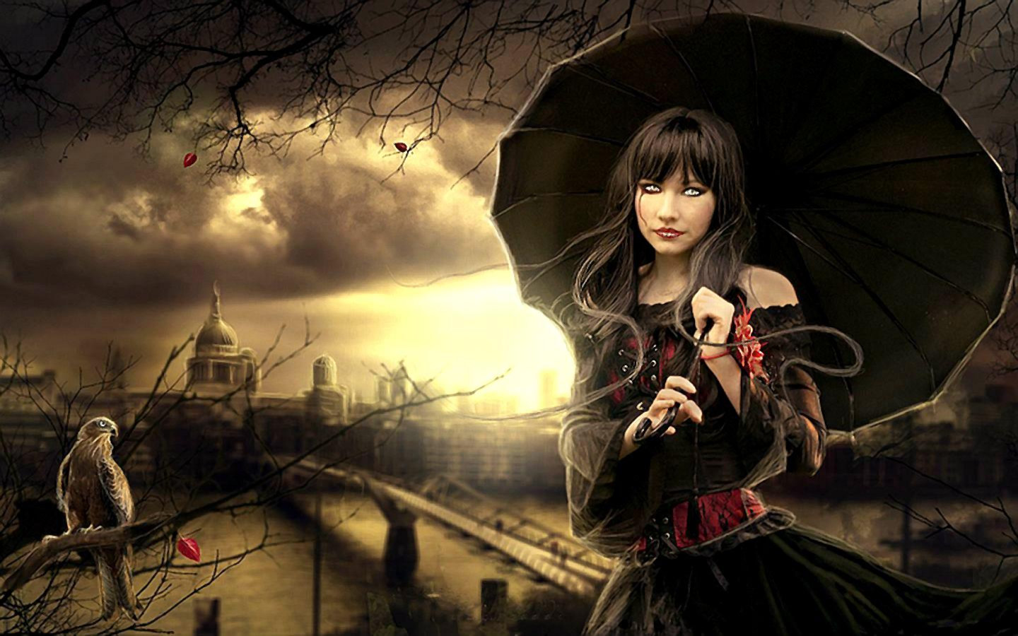 High Resolution Gothic Hd 1440x900 Wallpaper Id334820 For Computer