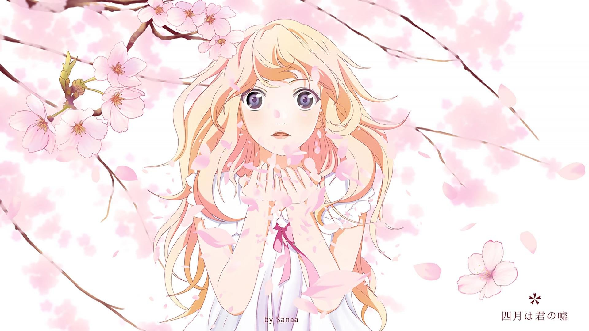 Your Lie In April Wallpapers 1920x1080 Full Hd 1080p Desktop