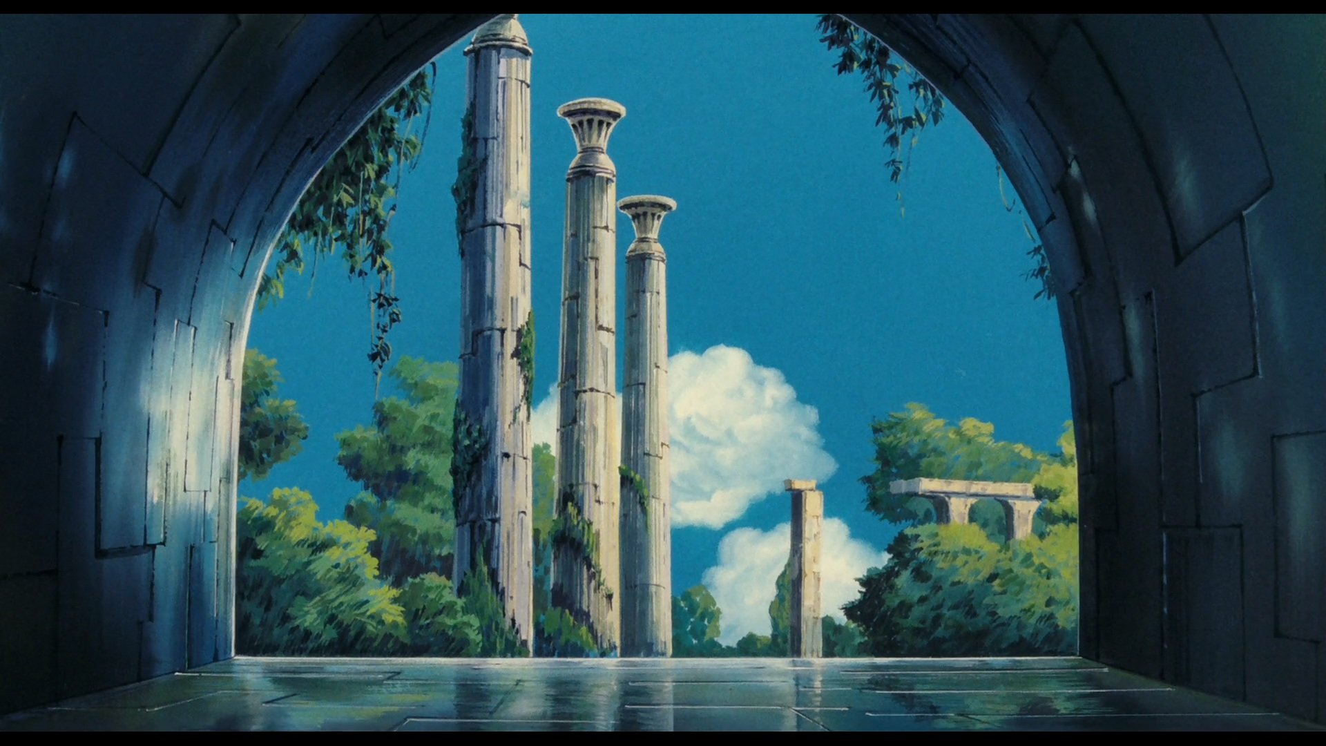 Free download Laputa: Castle In The Sky background ID:186183 full hd 1080p for desktop