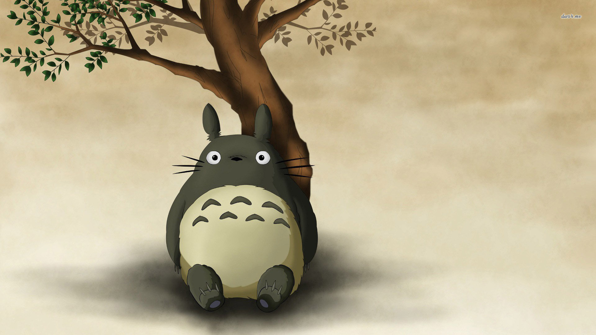 Best My Neighbor Totoro background ID:259357 for High Resolution full hd PC