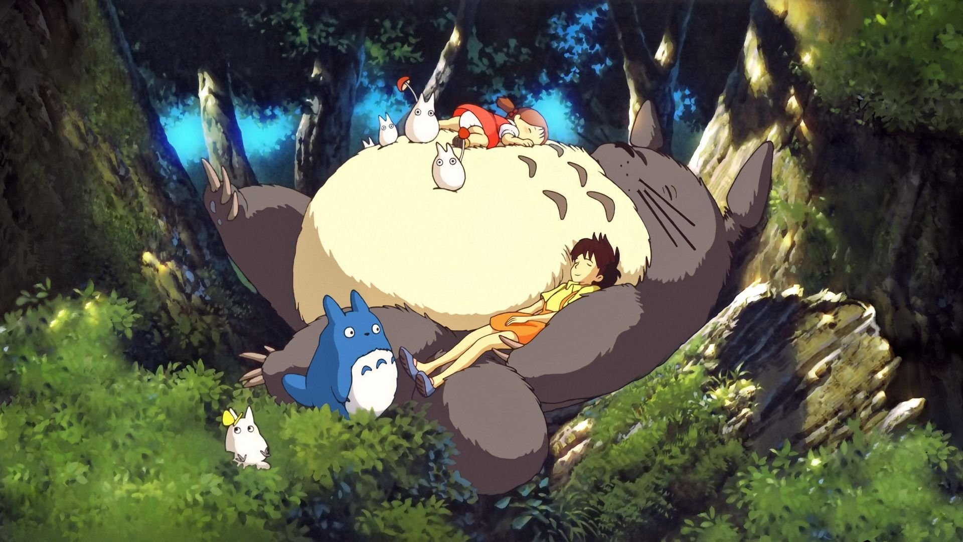 Free download My Neighbor Totoro background ID:259373 hd 1080p for computer