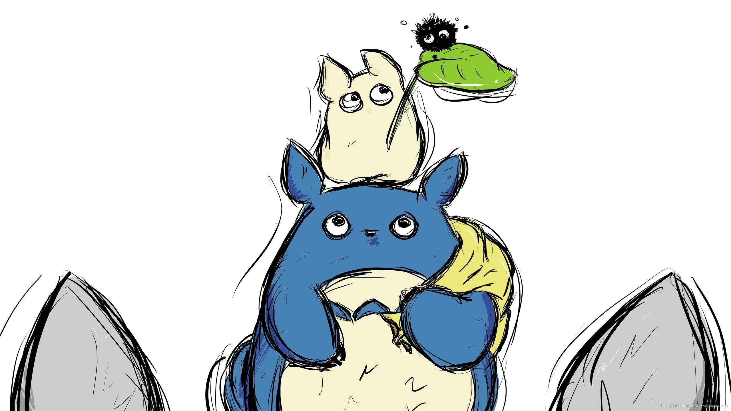 25+ My Neighbor Totoro Wallpaper  PNG