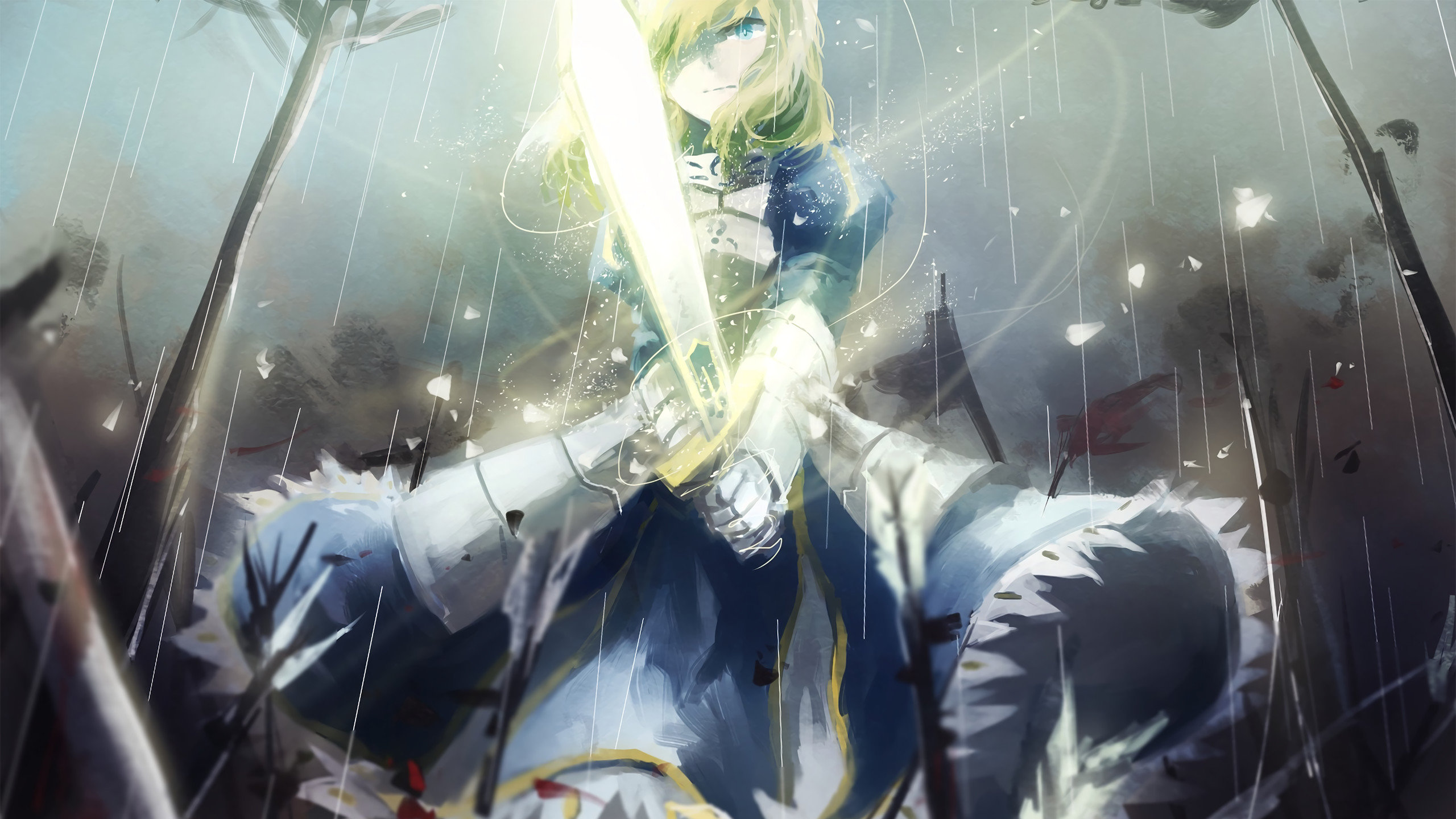 Free Saber (Fate Series) high quality background ID:468968 for hd 2560x1440 PC