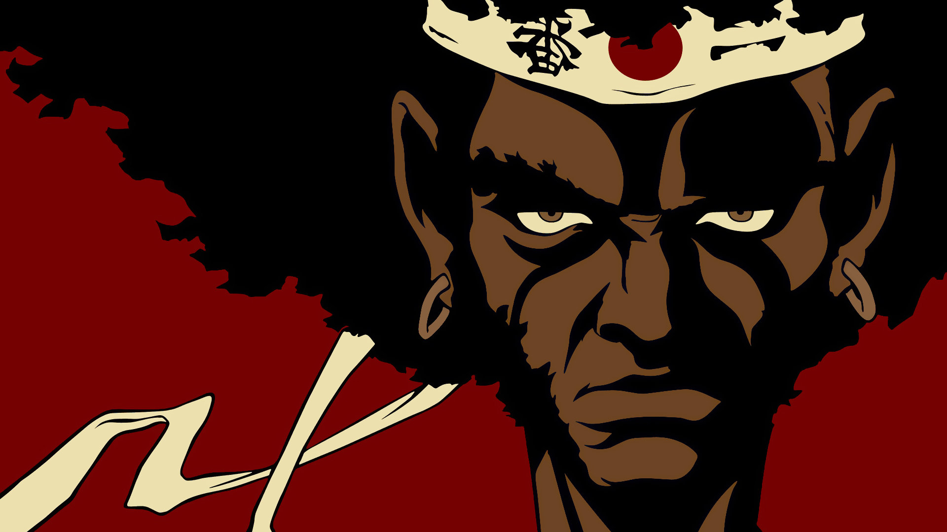 High resolution Afro Samurai full hd 1080p background ID:329150 for PC
