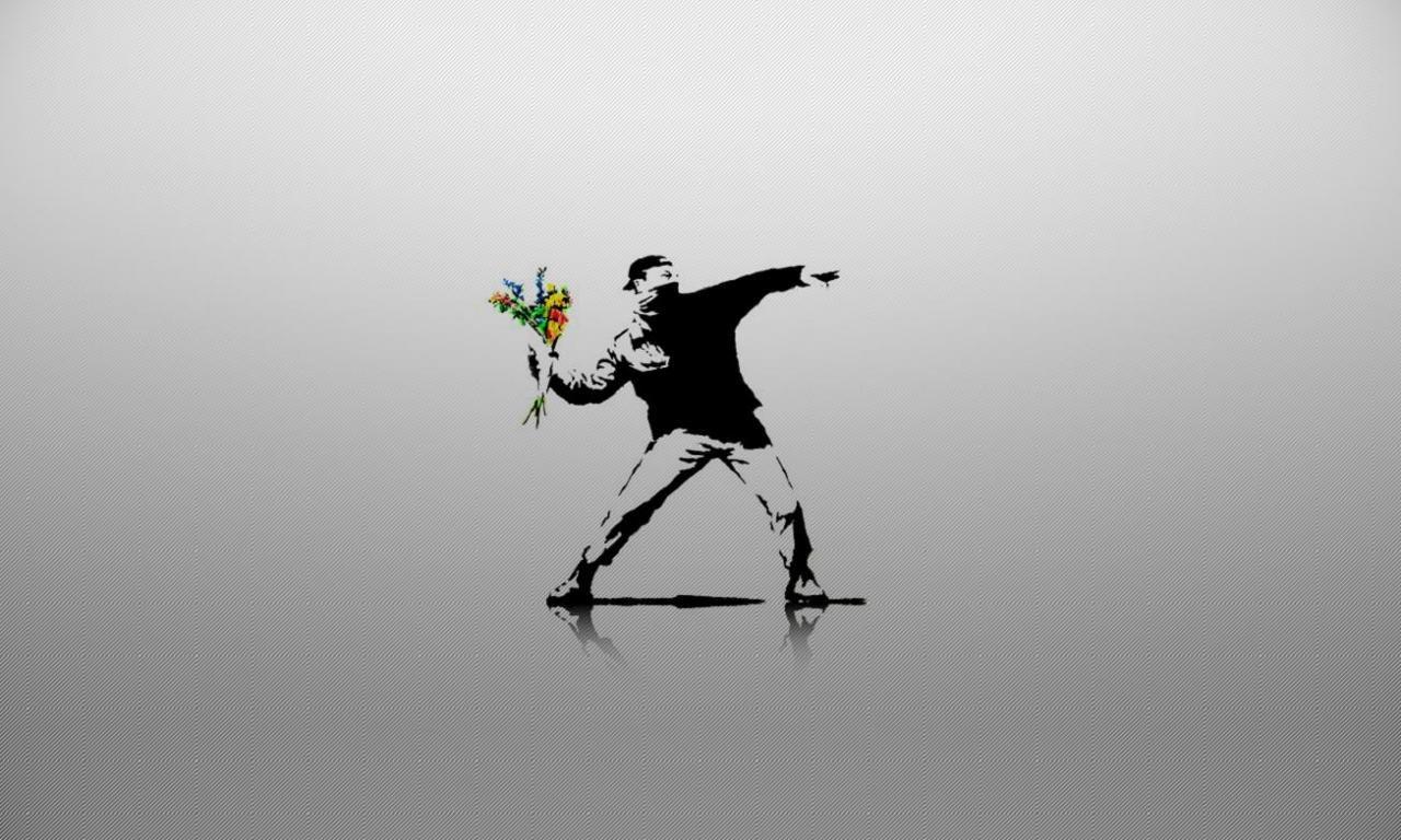 Banksy Hd Wallpaper: Banksy Wallpapers HD For Desktop Backgrounds