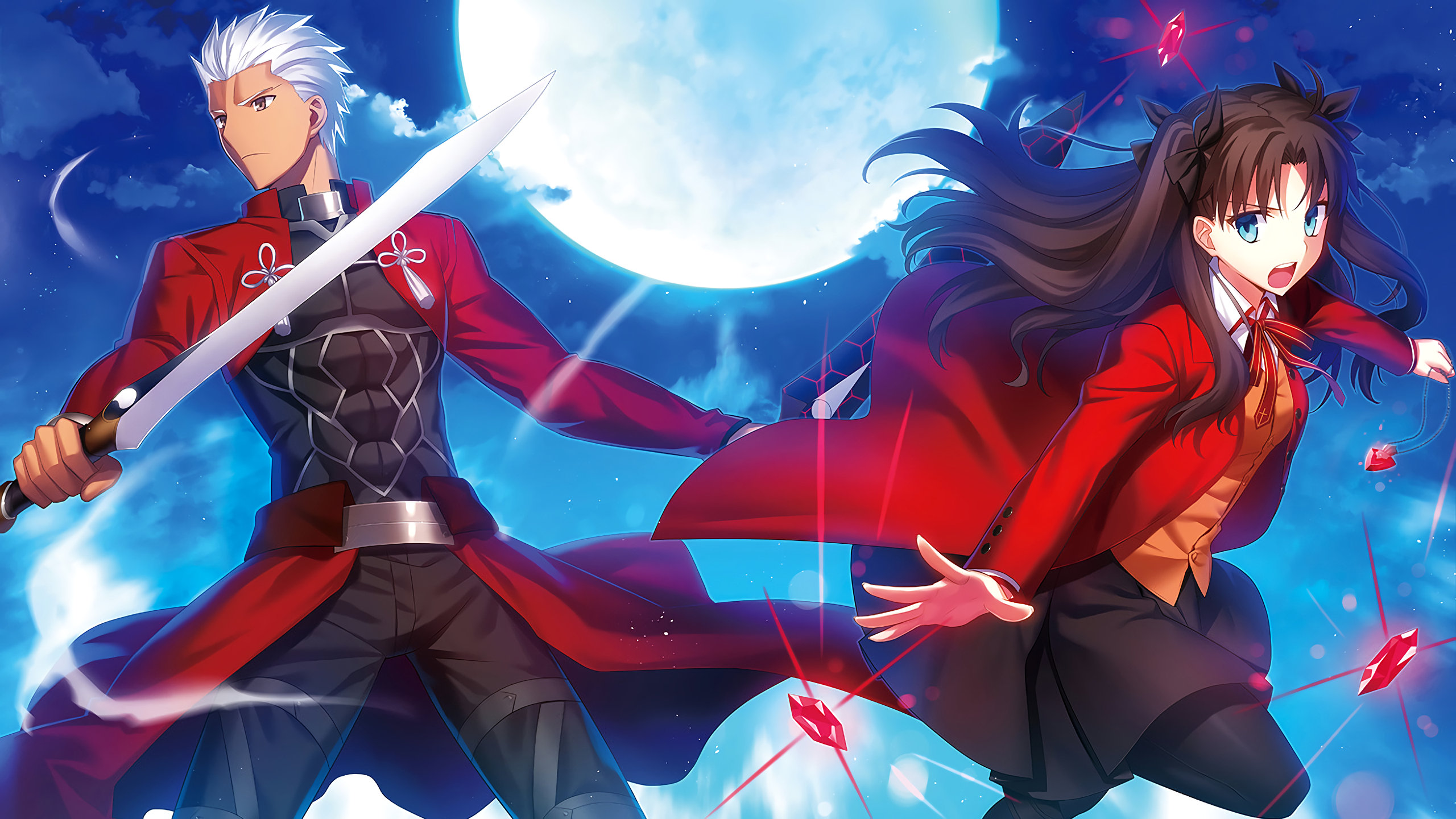 Download hd 2560x1440 Fate/Stay Night computer background ID:468652 for free