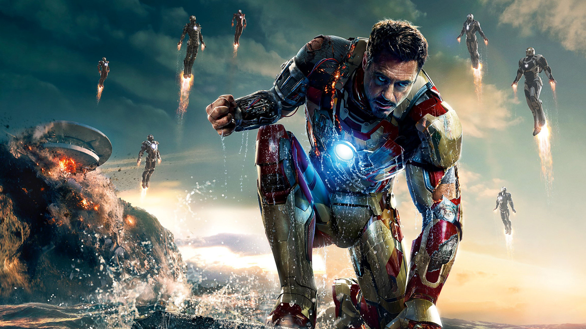 free download iron man 3 wallpaper id:400973 hd 1920x1080 for pc
