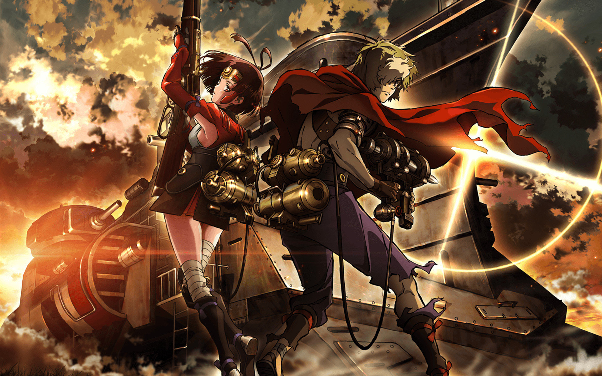 High resolution Kabaneri Of The Iron Fortress hd 1920x1200 wallpaper ID:116859 for computer