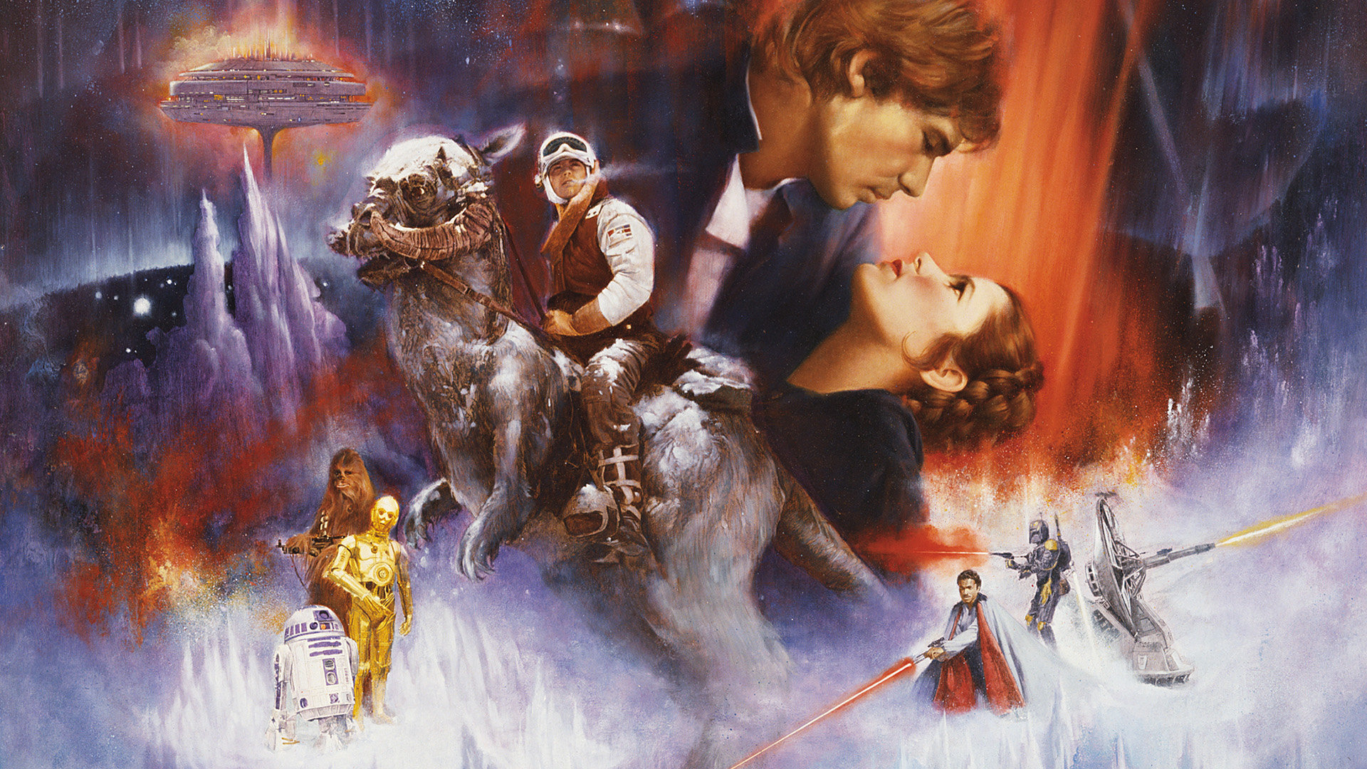 Star Wars Episode 5 V The Empire Strikes Back Wallpapers Hd For