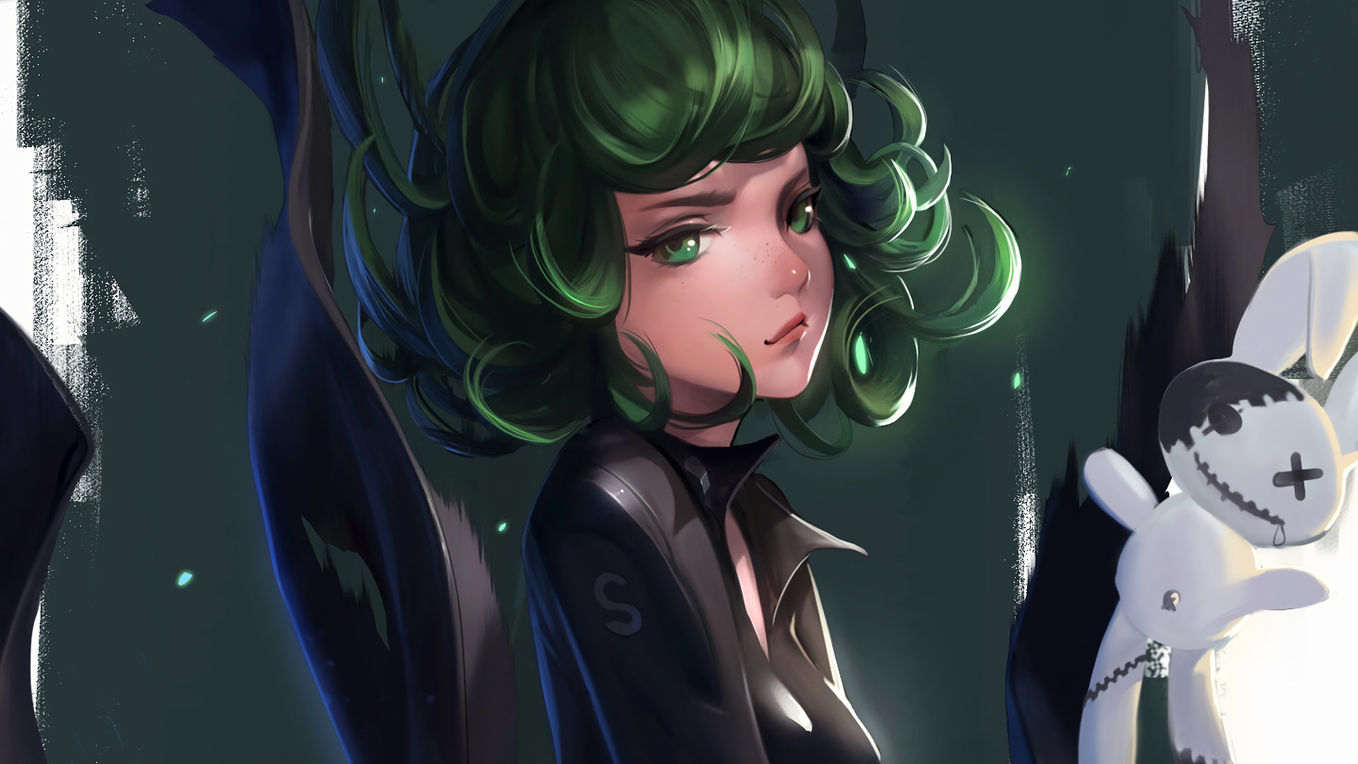 High resolution Tatsumaki (One-Punch Man) full hd background ID:345311 for PC