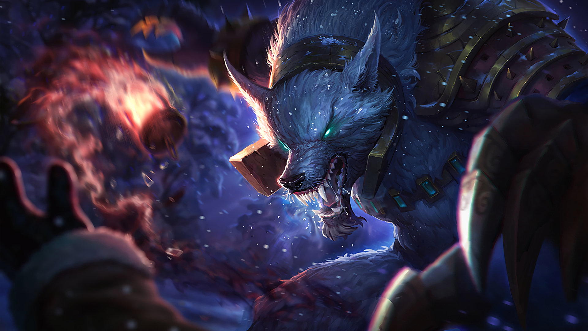 Warwick League Of Legends Wallpapers 1920x1080 Full Hd 1080p