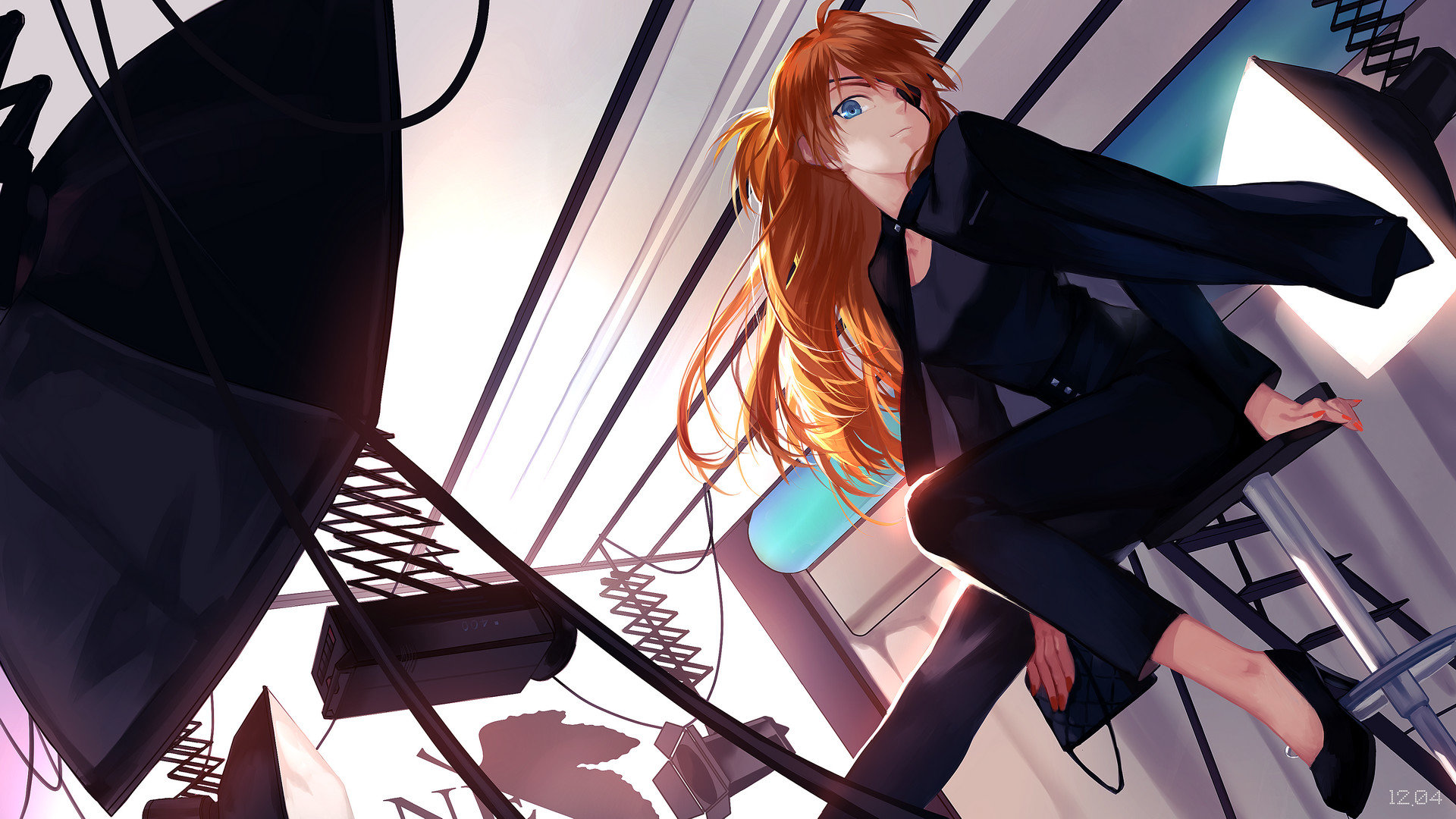 Download hd 1920x1080 Asuka Langley Sohryu PC background ID:215090 for free
