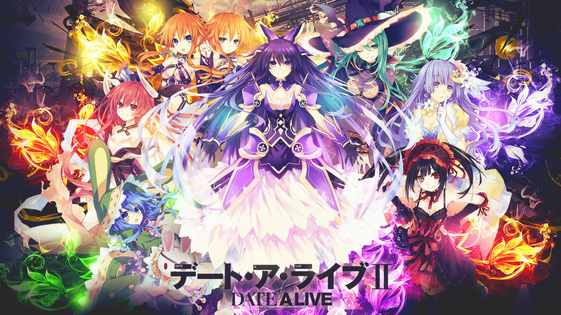 Best Date A Live wallpaper ID:463925 for High Resolution hd 1920x1080 PC