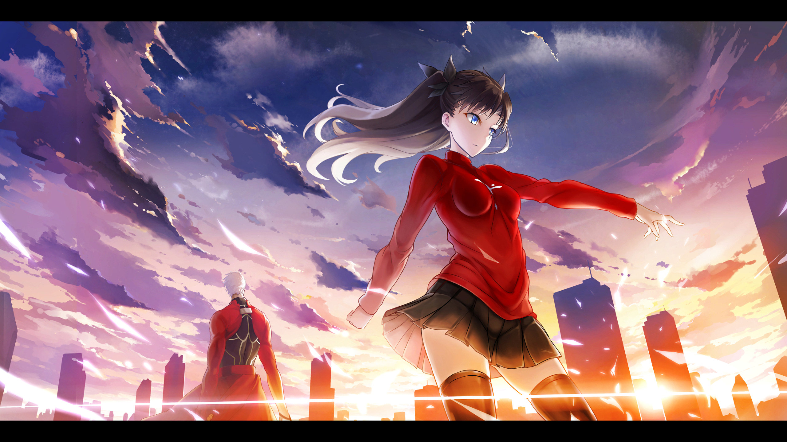 Free download Fate/Stay Night wallpaper ID:468495 hd 2560x1440 for computer
