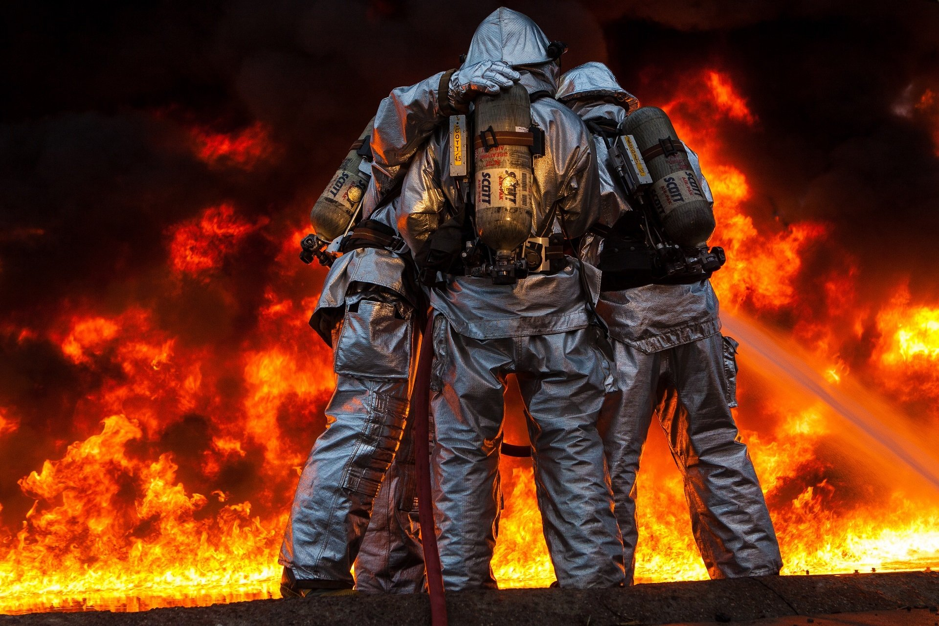 High Resolution Firefighter Hd 1920x1280 Wallpaper ID27730 For PC