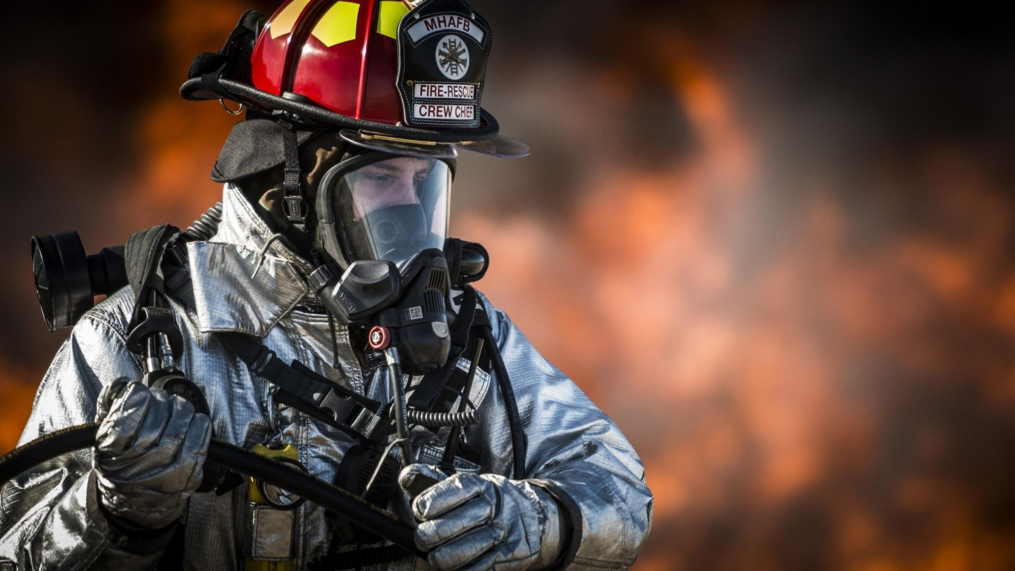 Awesome Firefighter Free Wallpaper ID27731 For Hd 2048x1152 PC