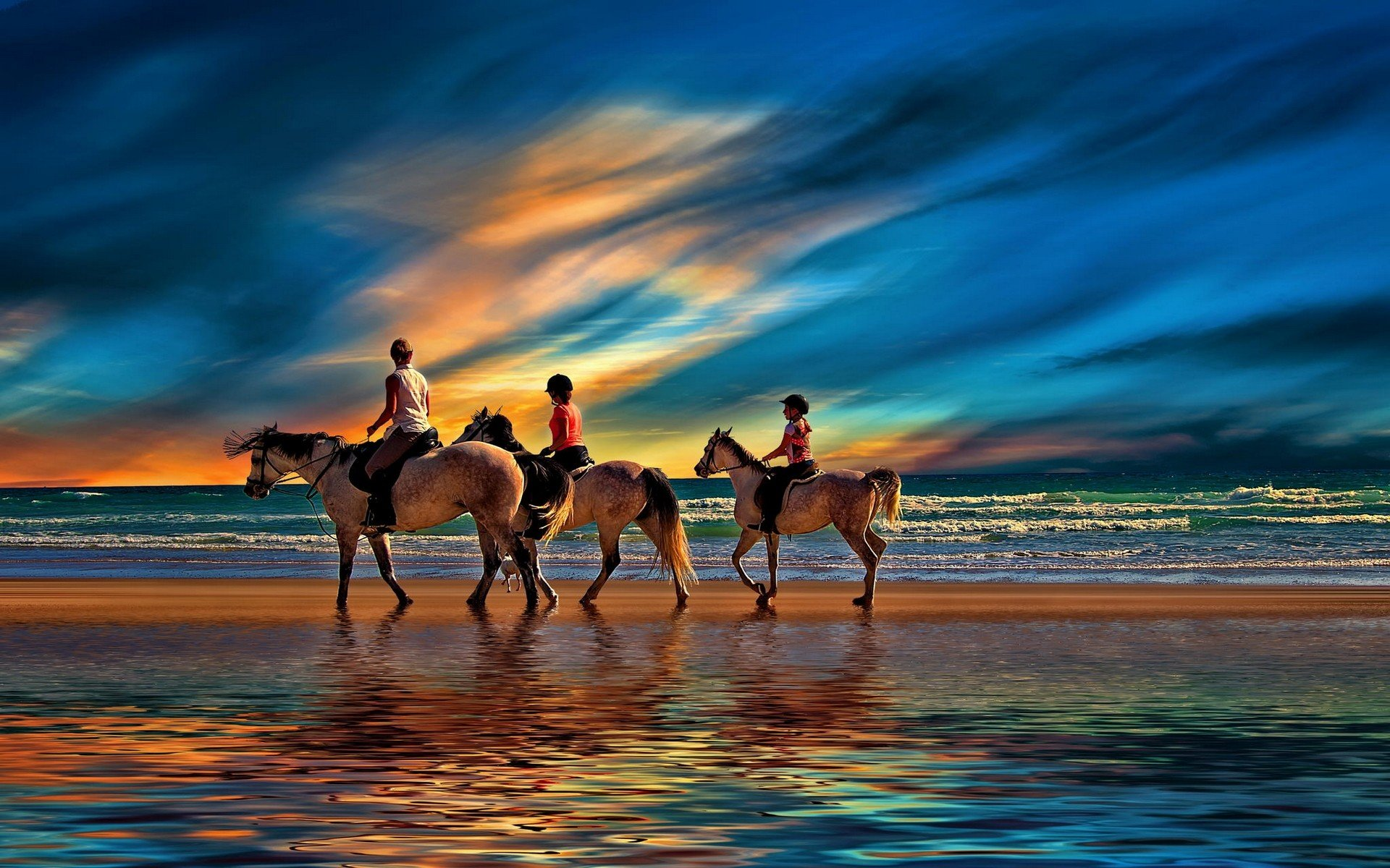 Free Horse Riding high quality background ID:301708 for hd 1920x1200 PC