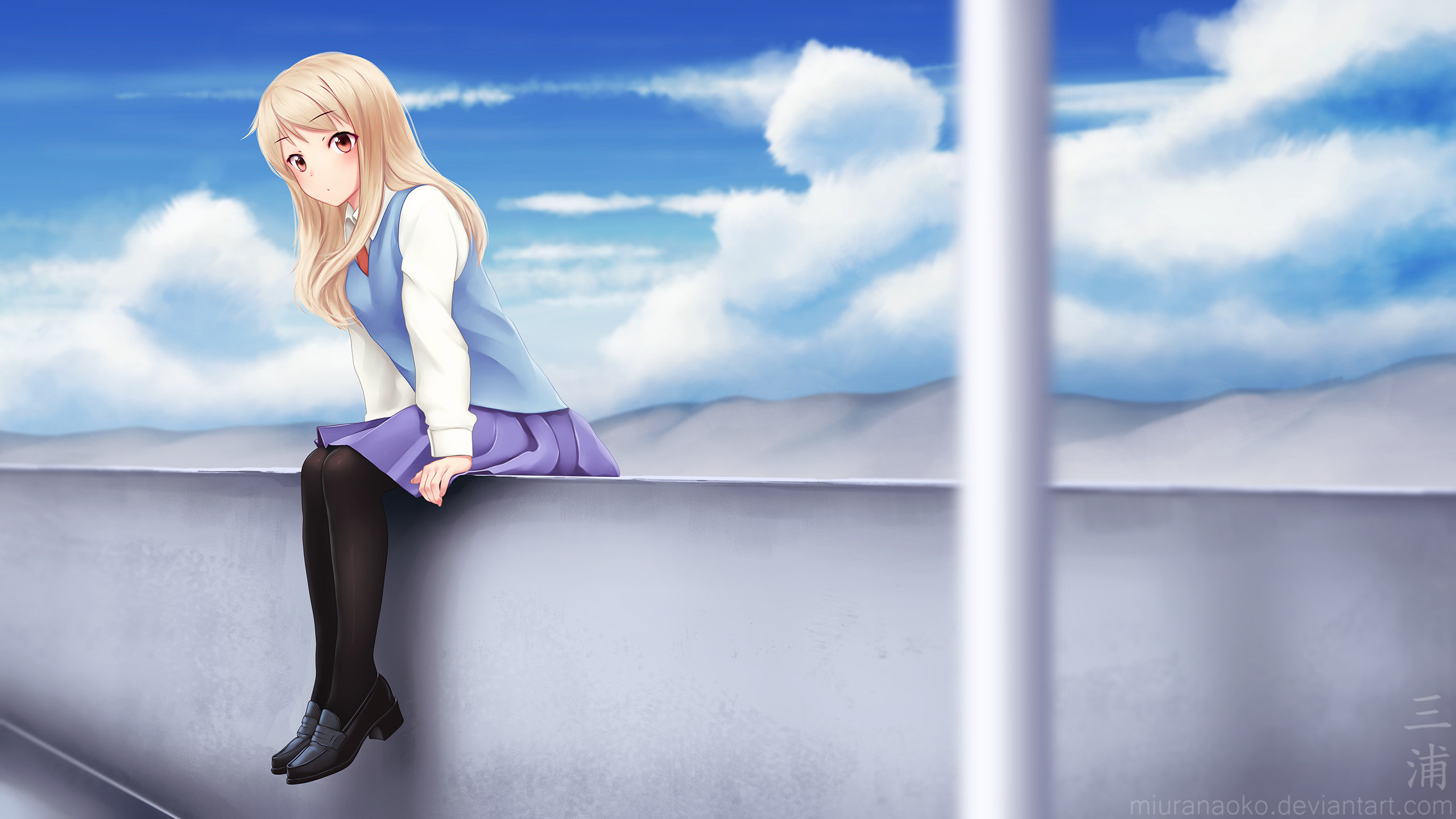 Free Mashiro Shiina high quality wallpaper ID:68329 for hd 2560x1440 computer