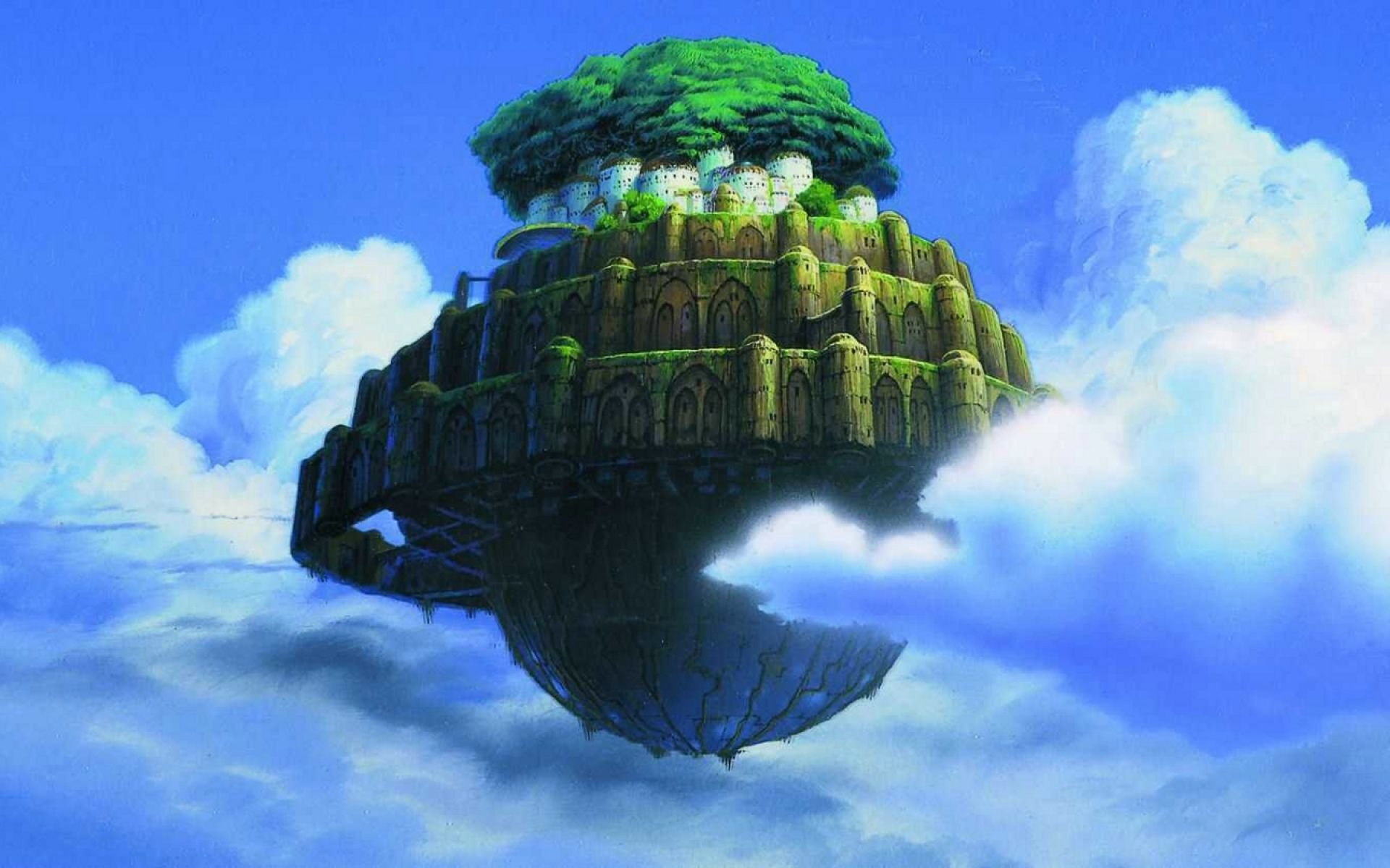 Download hd 1920x1200 Laputa: Castle In The Sky PC wallpaper ID:186127 for free