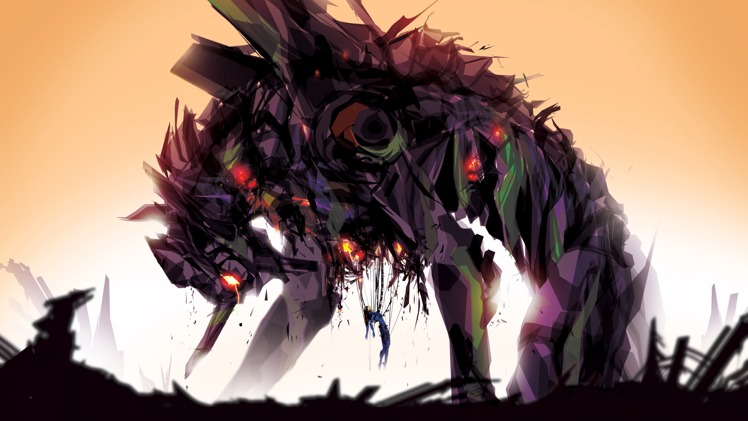Download hd 2560x1440 Neon Genesis Evangelion PC background ID:214905 for free