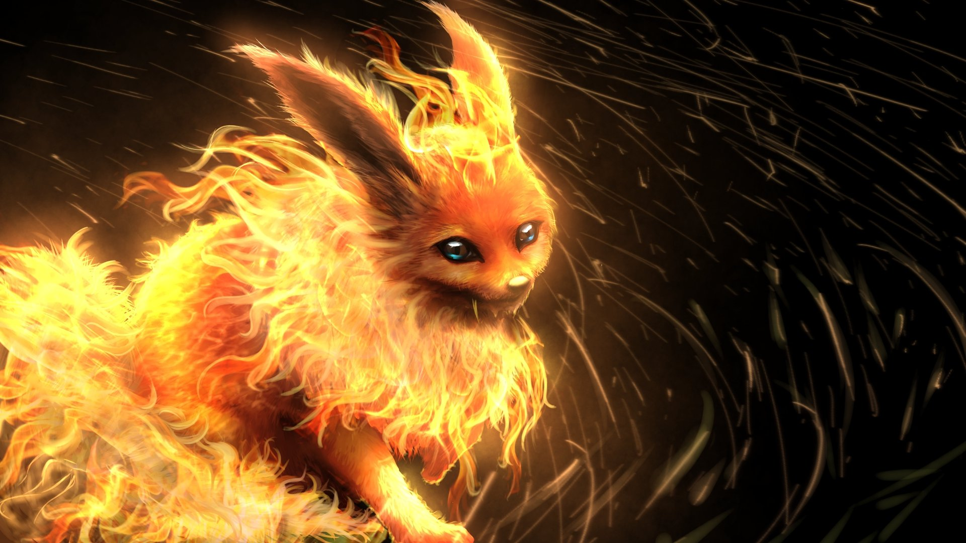Best Flareon (Pokemon) background ID:278664 for High Resolution hd 1080p PC