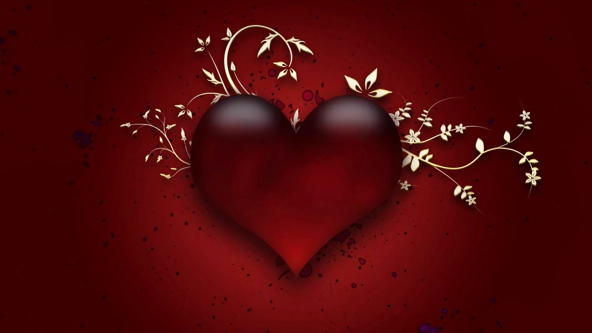 download hd 1080p heart pc wallpaper id:209249 for free