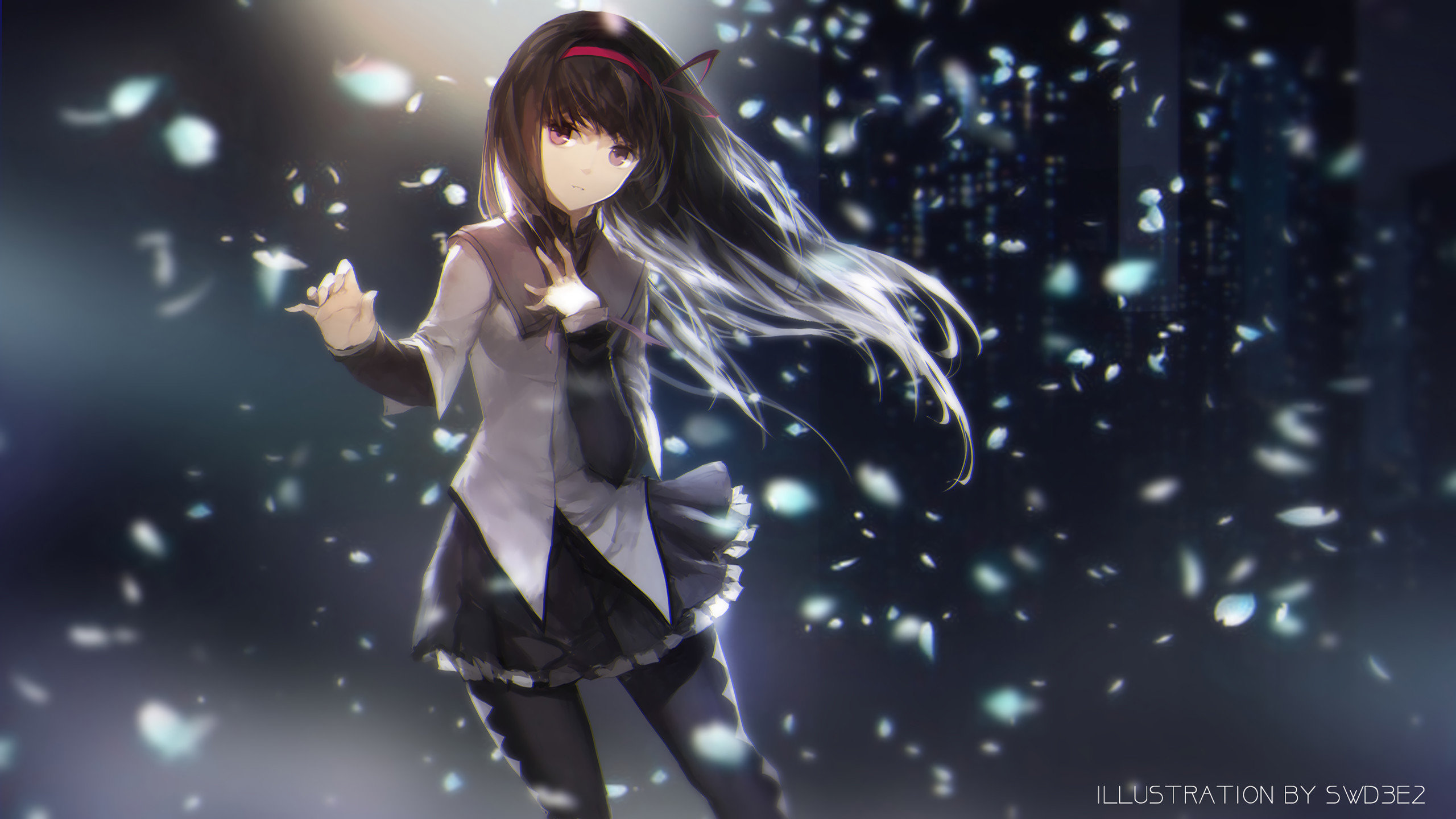 Awesome Homura Akemi free background ID:31651 for hd 2560x1440 PC