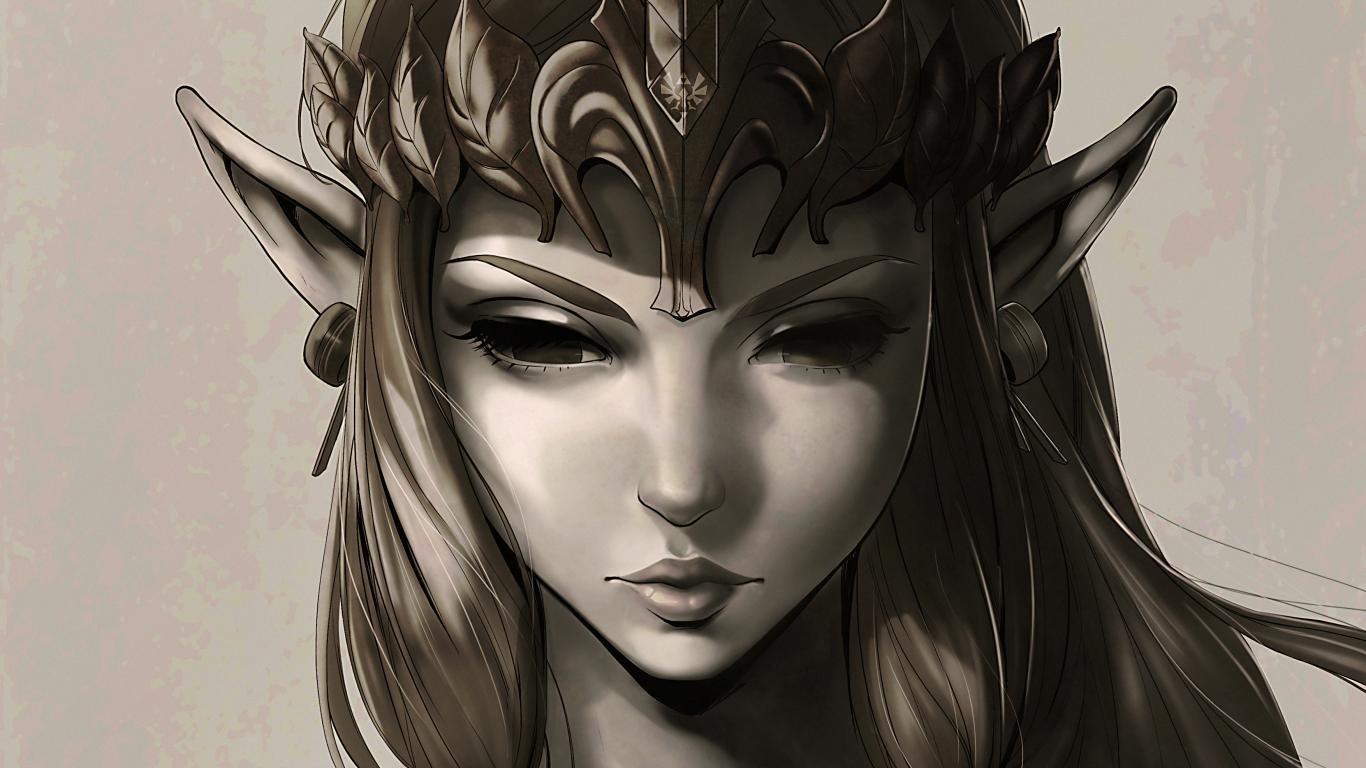 The Legend Of Zelda Twilight Princess Wallpapers 1366x768 Laptop