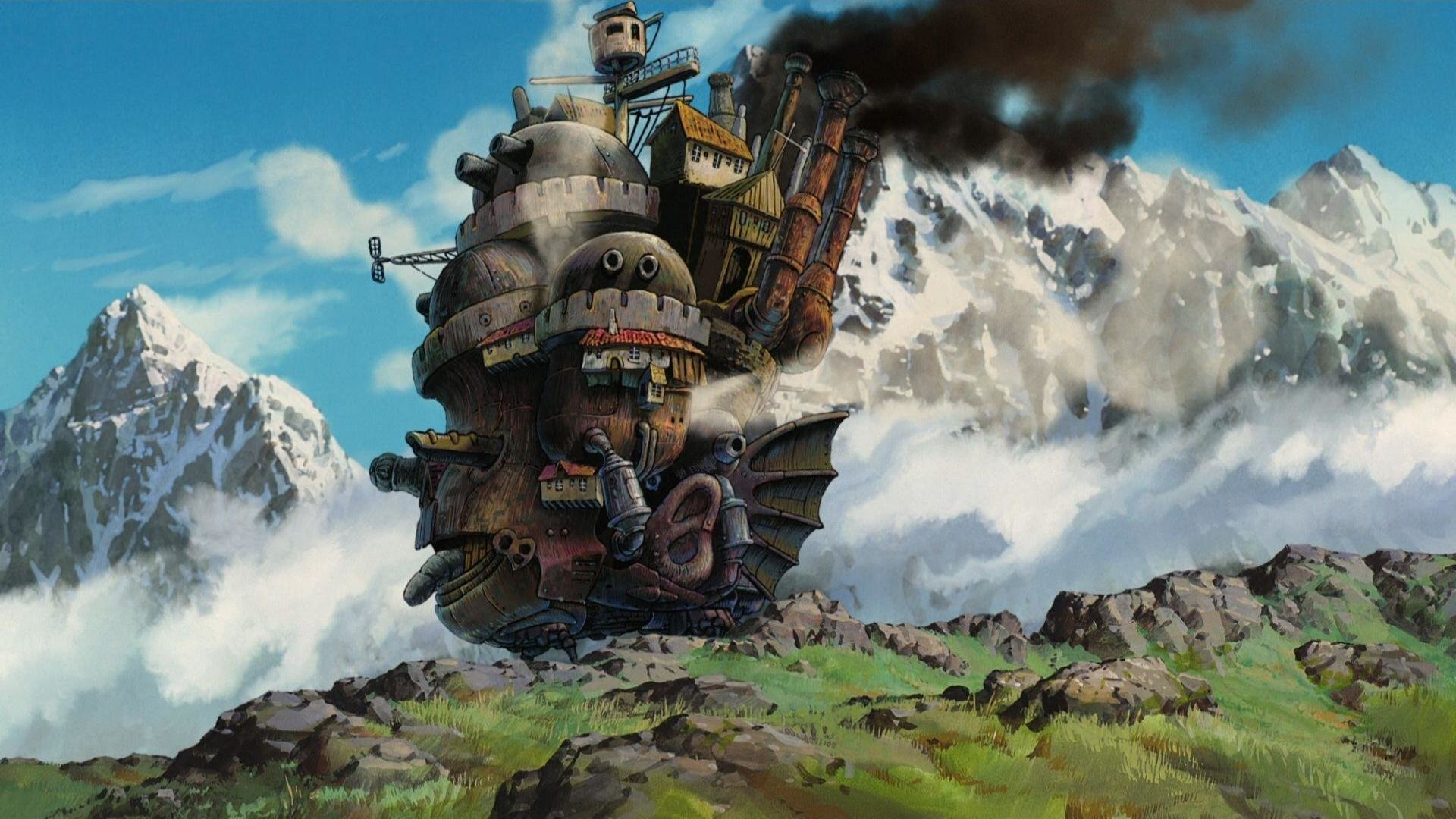 Download 1080p Howl's Moving Castle computer background ID:347884 for free