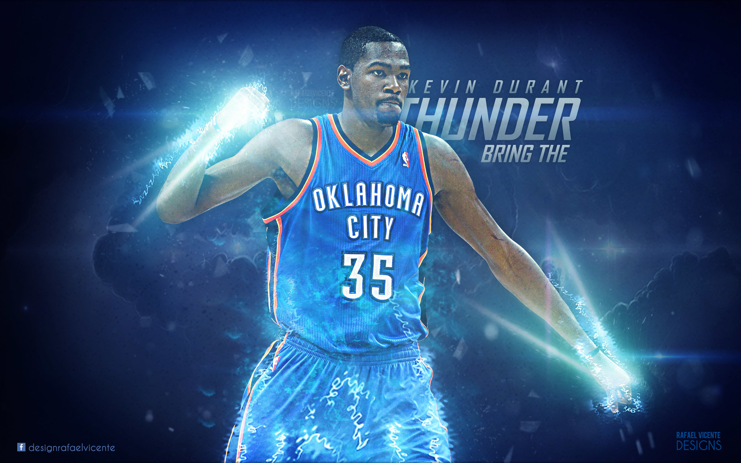 Download hd 2560x1600 Kevin Durant PC background ID:117138 for free