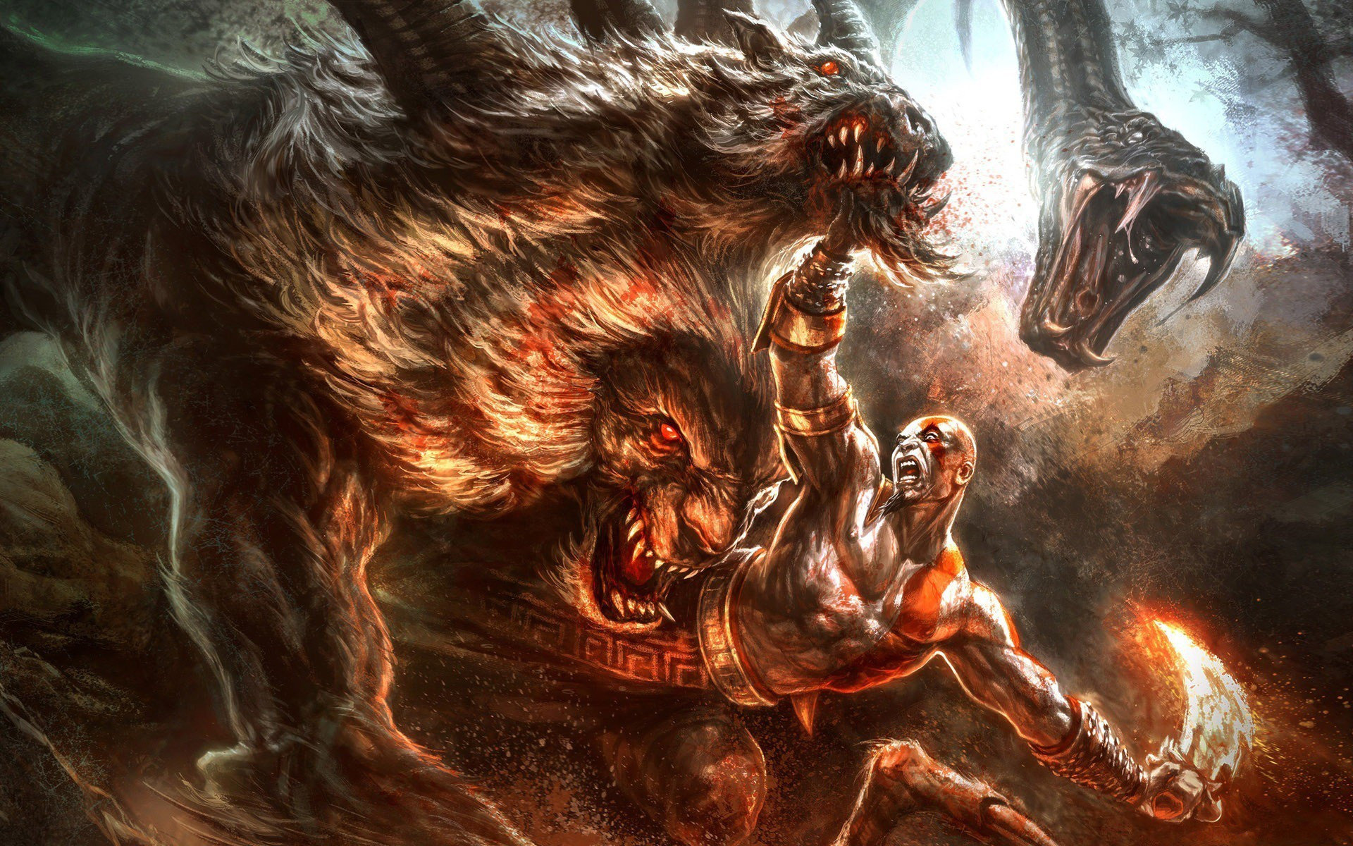 Kratos God Of War Wallpapers 1920x1200 Desktop Backgrounds